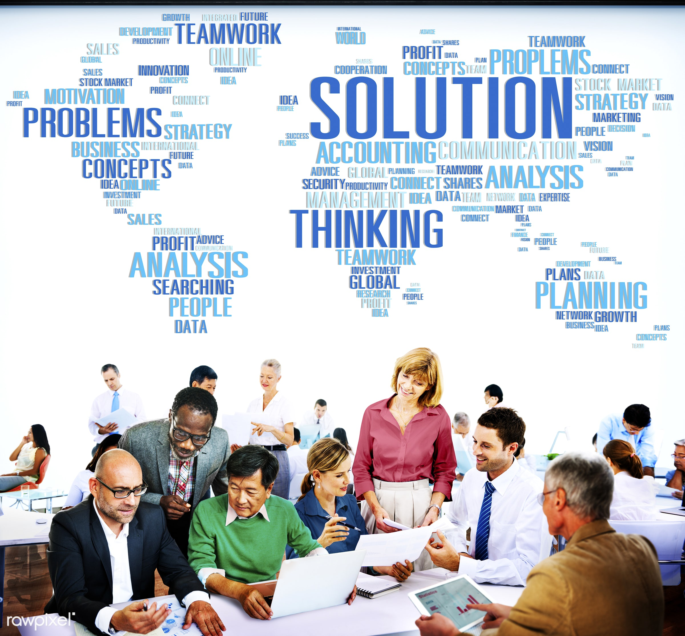 analysis, answers, assistance, breaking new ground, business, business people, business strategy, businessmen, businesswomen...