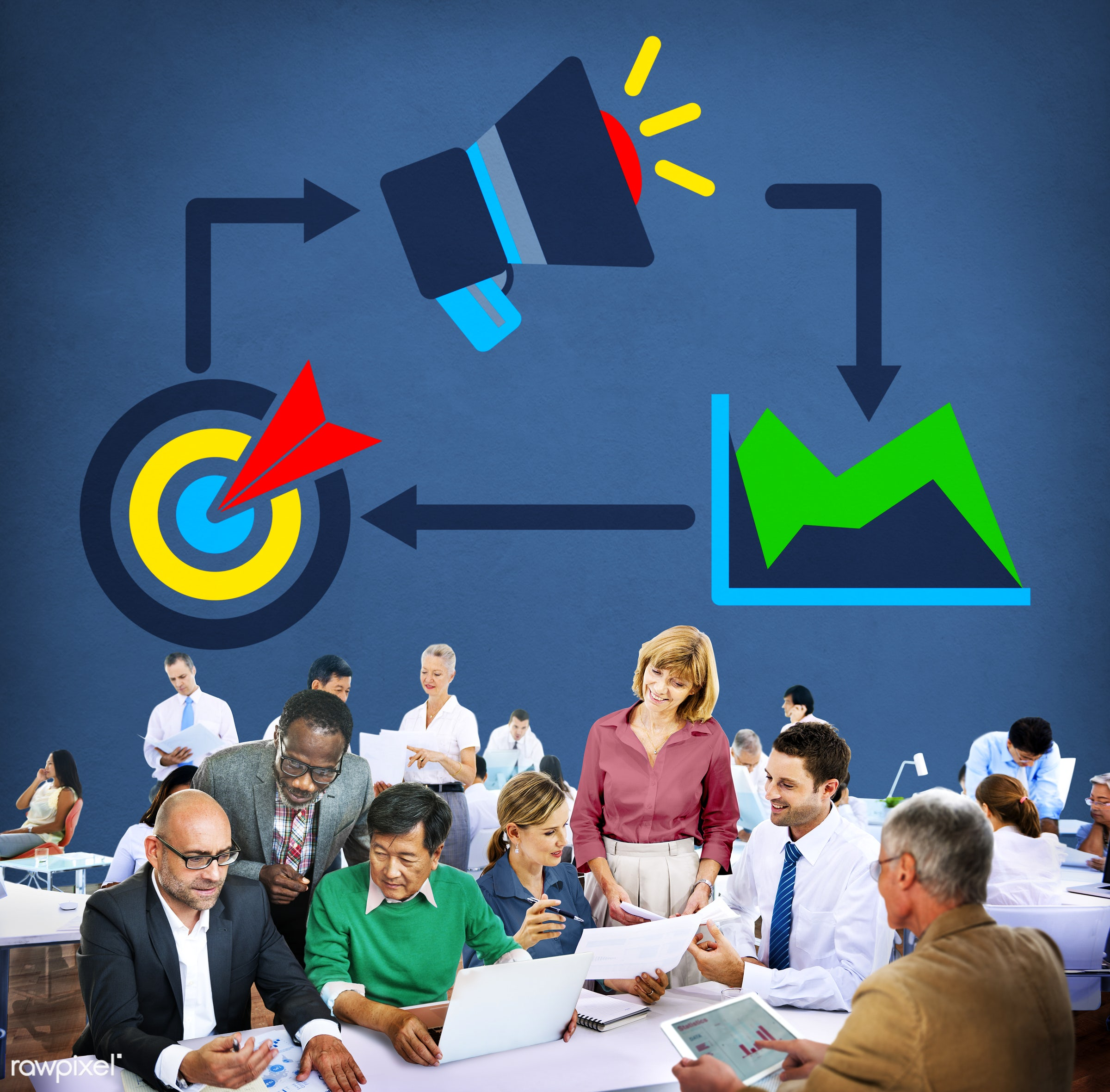 advertisement, advertising, african descent, asian ethnicity, brainstorming, brand, branding, business, business people,...