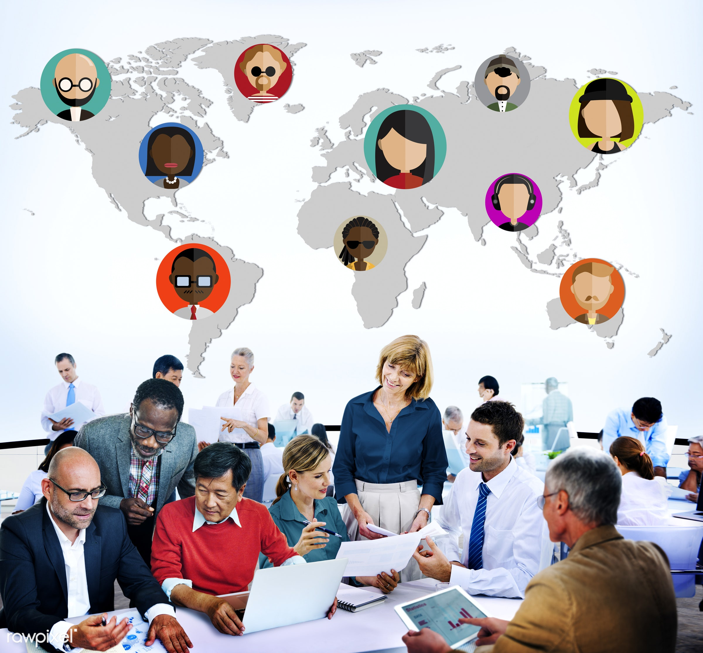 analysis, business, business people, businessmen, businesswomen, busy, cartography, communication, community, connection,...