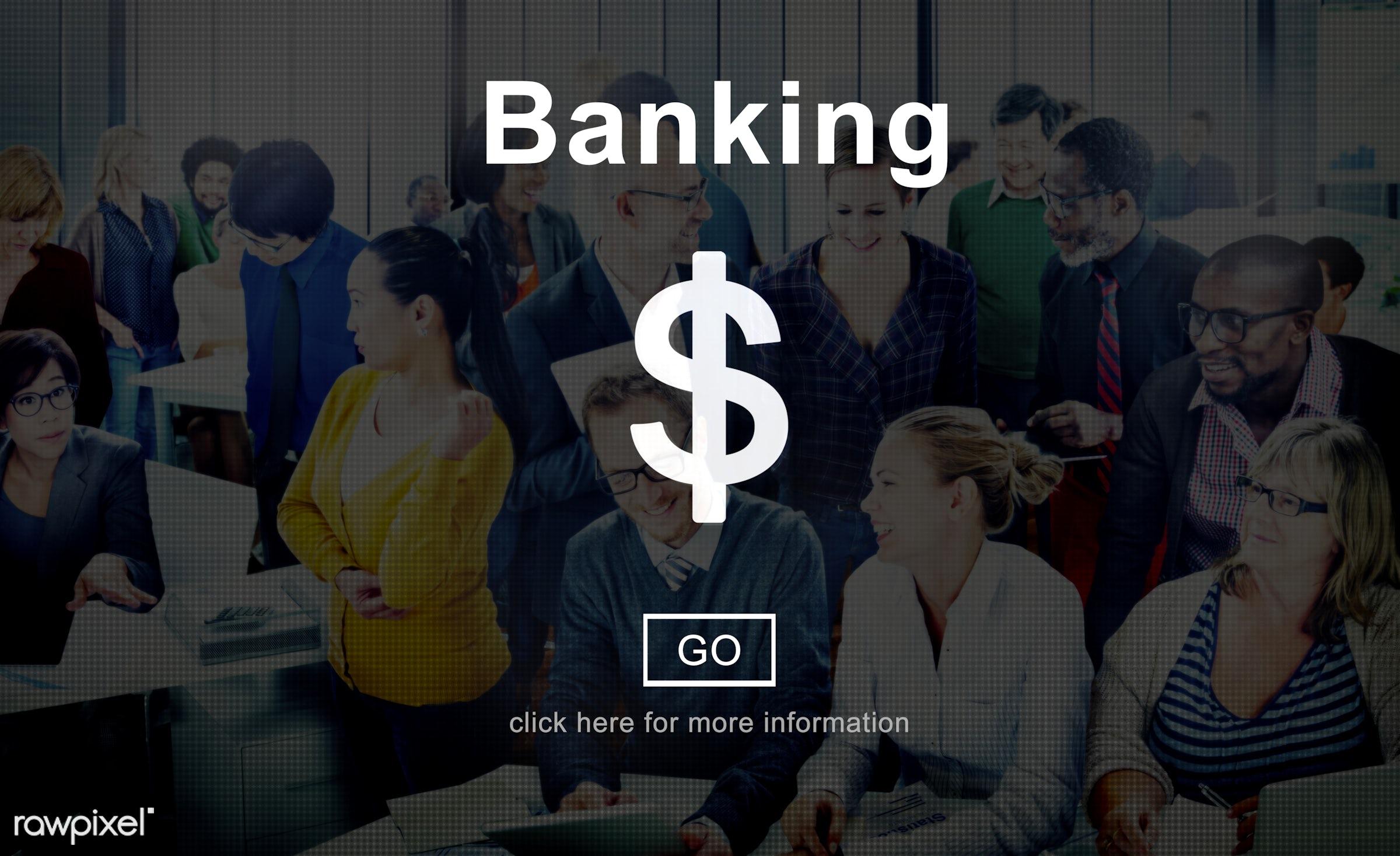 account, african descent, asian ethnicity, bank, banking, business, businessmen, businesswomen, busy, cash, communication,...
