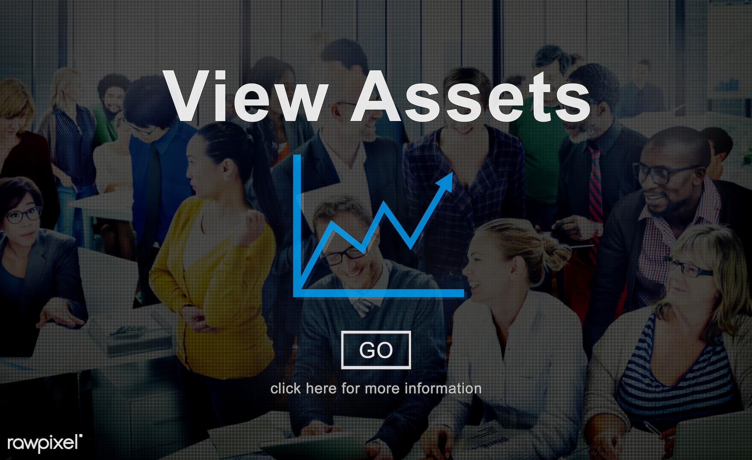accounting, advantage, african descent, analysis, asian ethnicity, assets, bar graph, benefit, bonus, bookkeeping, business...