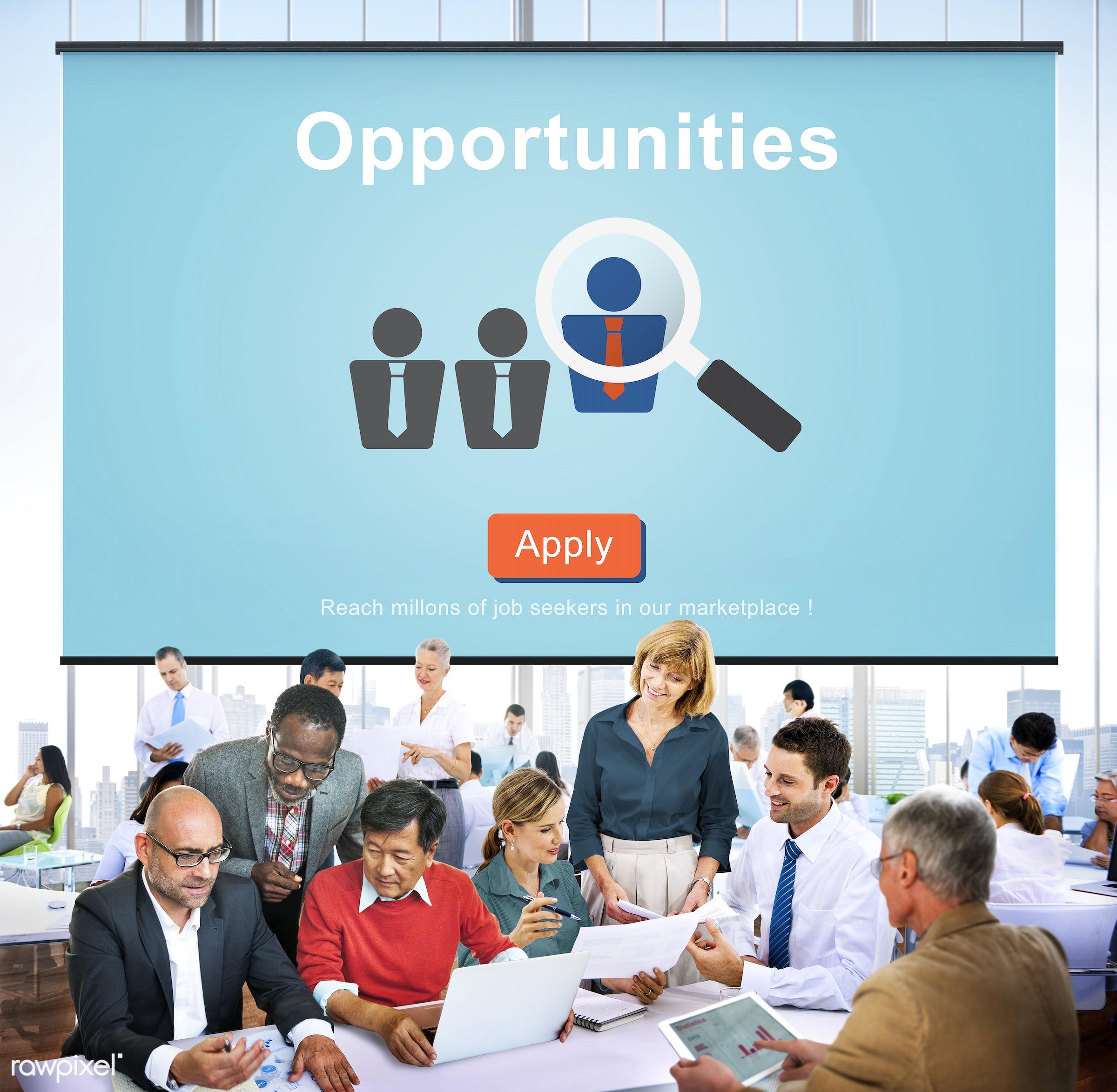 achievement, african descent, application, apply, asian ethnicity, brainstorming, business, businessmen, businesswomen,...
