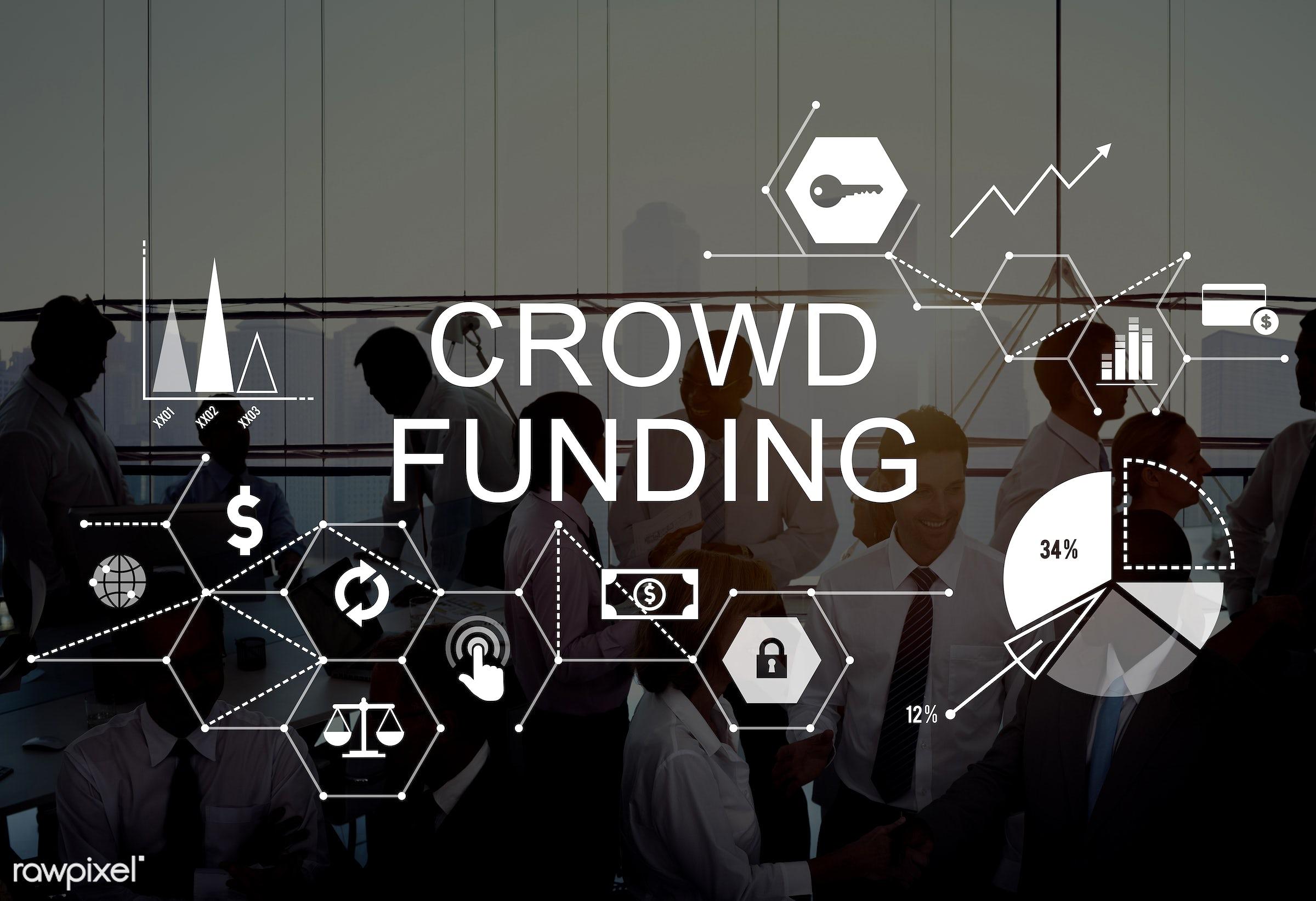 startup, funding, african descent, asian ethnicity, building, business, businessmen, businesswomen, city, communication,...