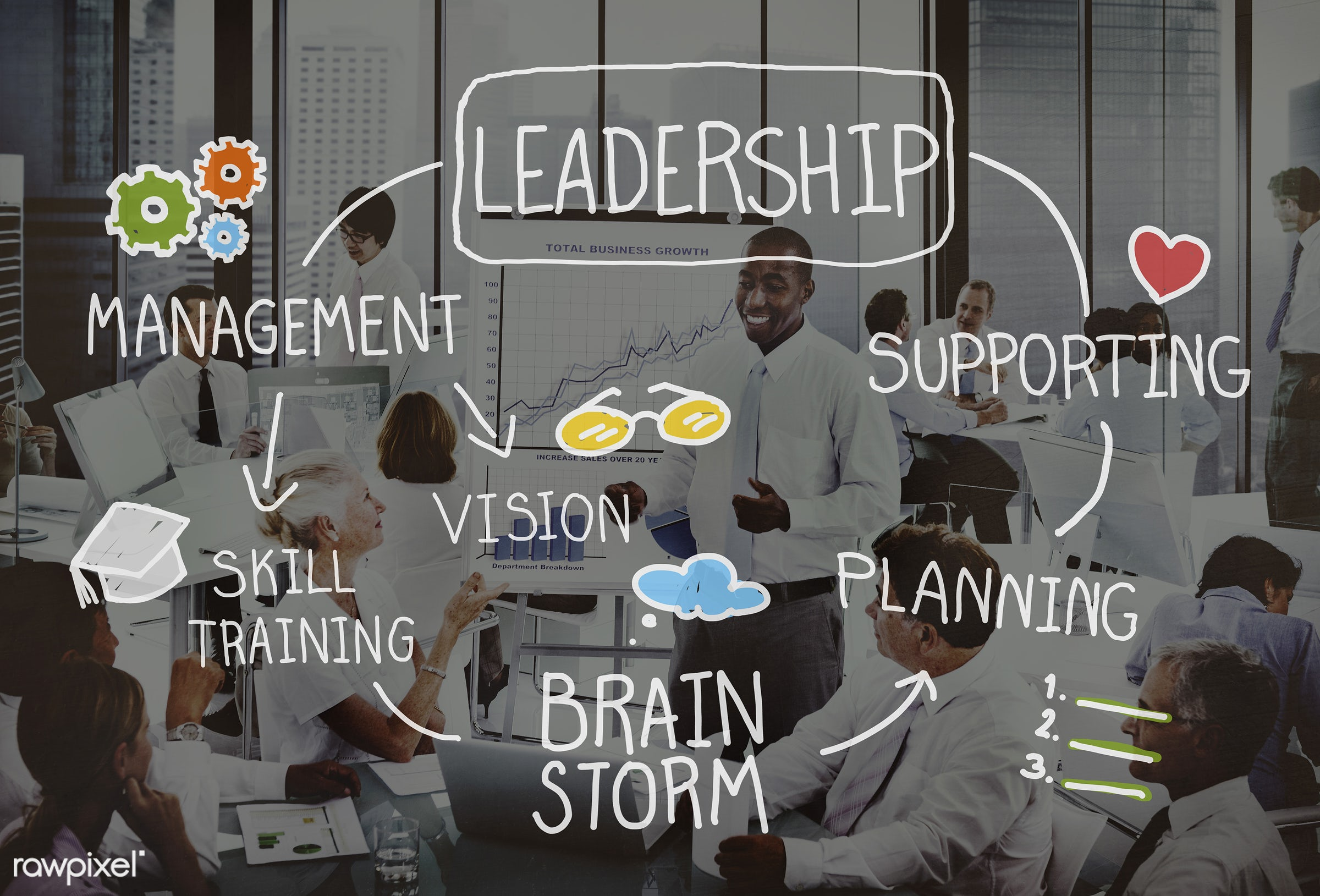 success, manager, african descent, asian ethnicity, authoritarian, authority, boss, brainstorm, brainstorming, business,...
