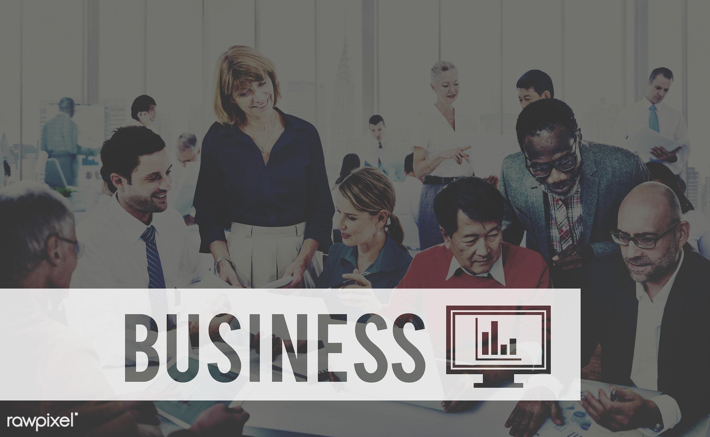 african descent, asian ethnicity, big business, brainstorming, business, business people, businessmen, businesswomen,...