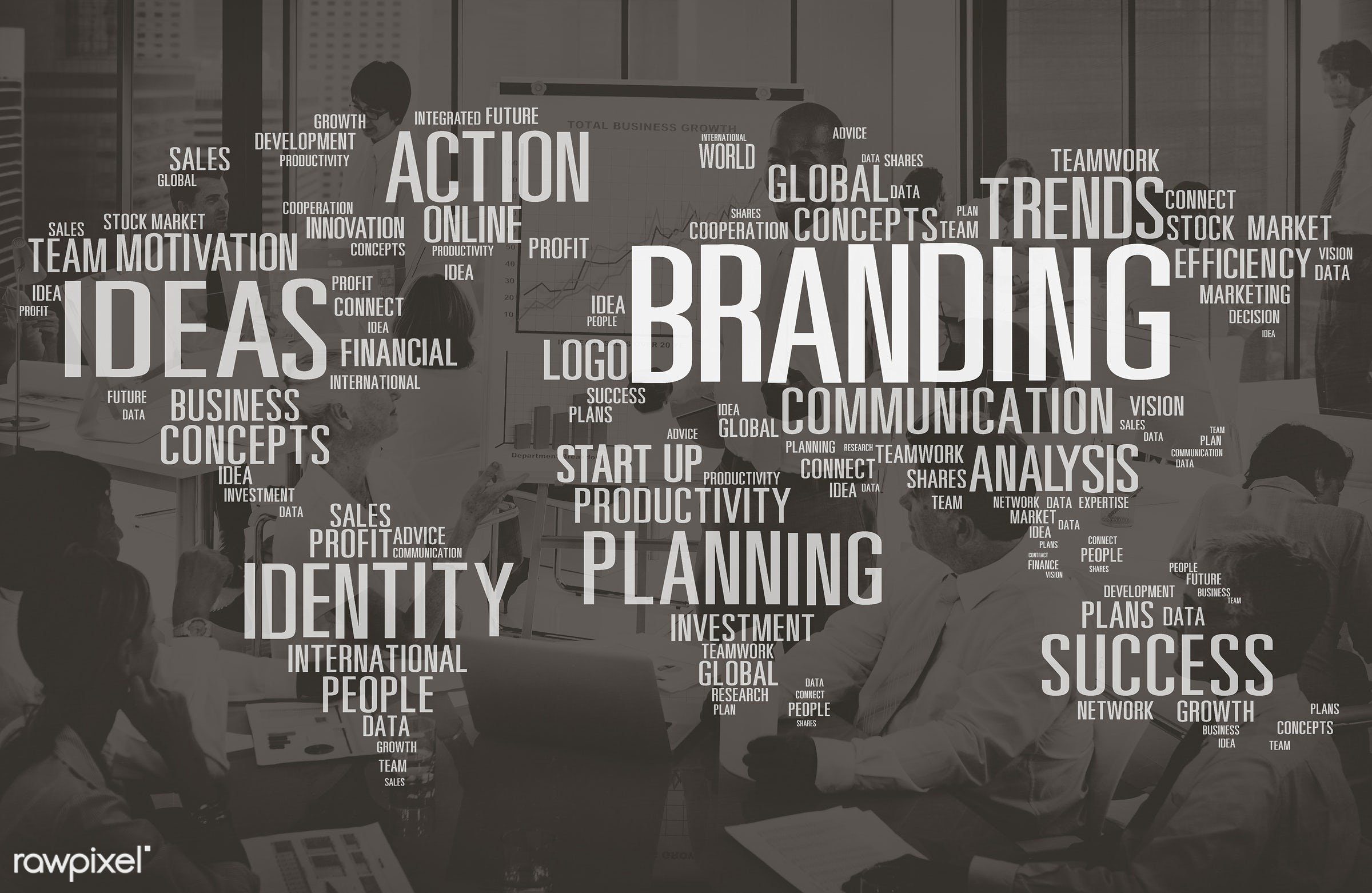 advertising, african descent, analysis, asian ethnicity, brainstorming, brand, brand name, branding, business, businessmen,...