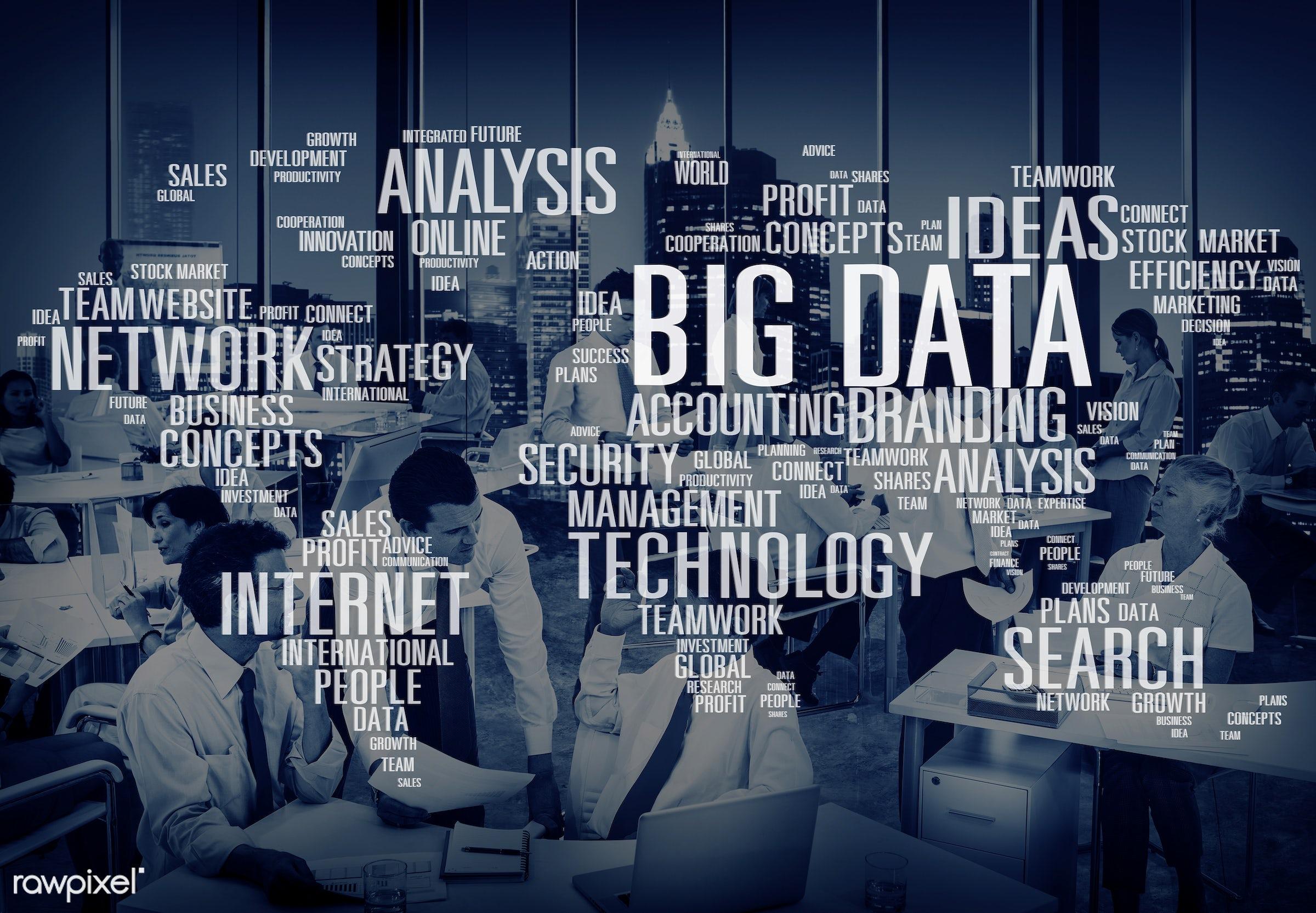 african descent, analysis, asian ethnicity, big data, building, business, businessmen, businesswomen, city, cloud, cloud...