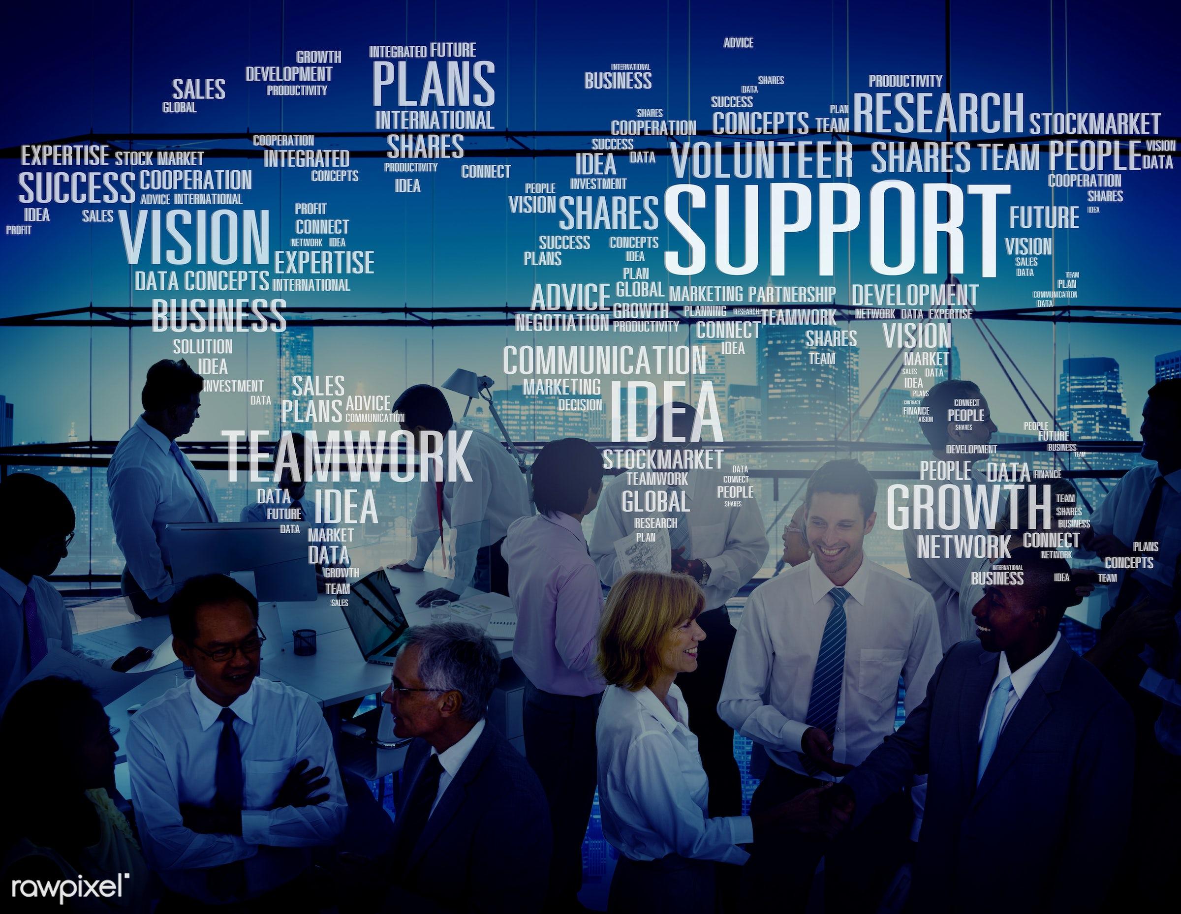 advice, african descent, asian ethnicity, building, business, businessmen, businesswomen, city, communication, connect,...