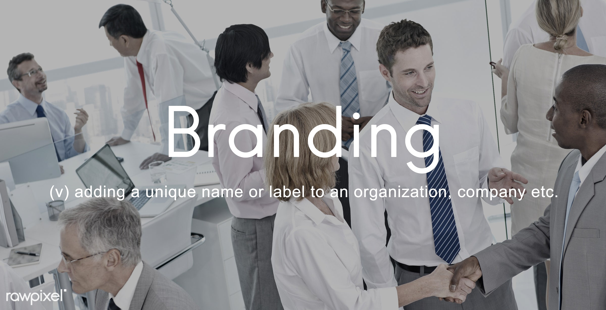 advertising, african descent, asian ethnicity, badge, brand, brand name, branding, business, businessmen, businesswomen,...