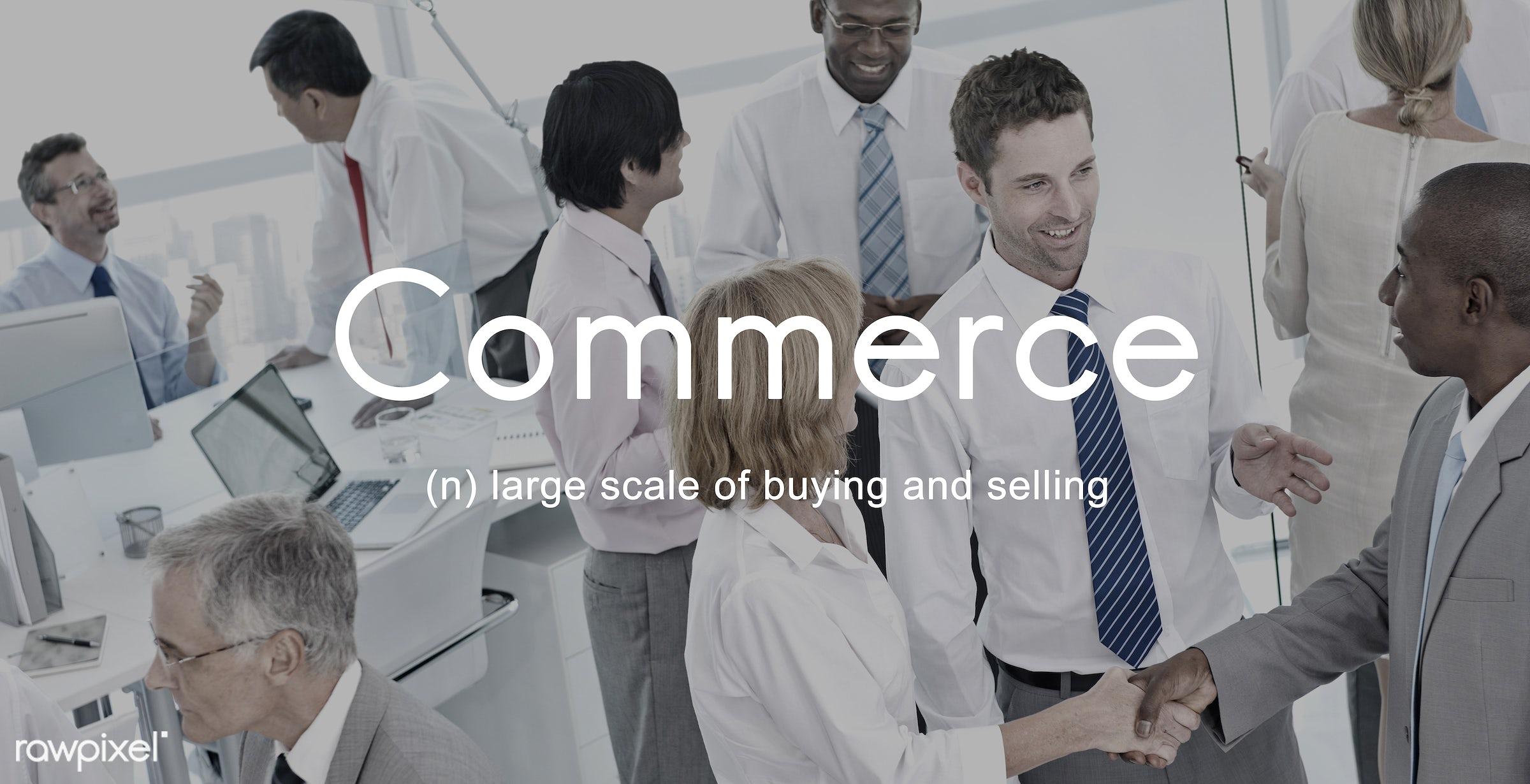 african descent, asian ethnicity, business, businessmen, businesswomen, buy, buying, city, commerce, communication,...