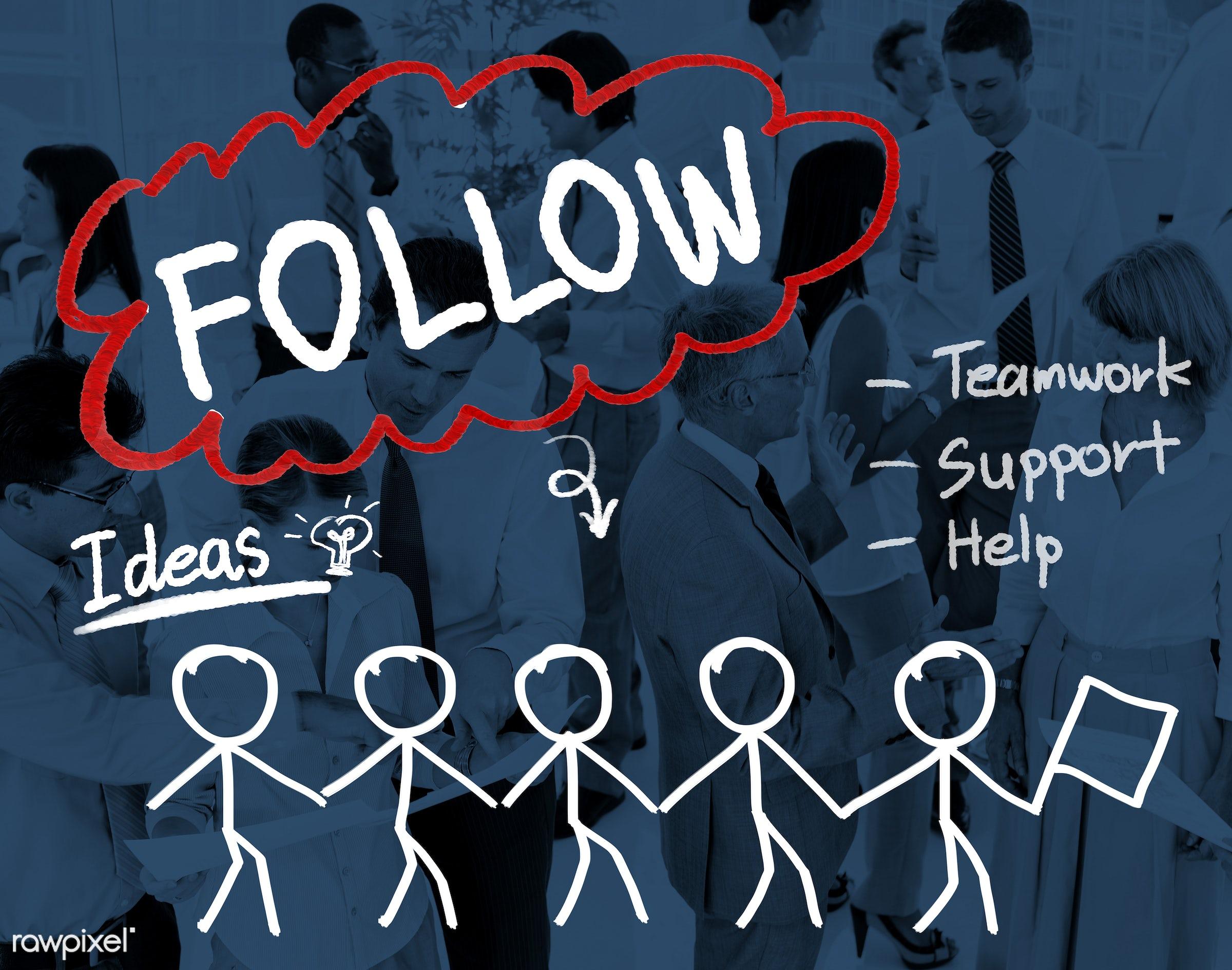follow, african descent, asian ethnicity, blog, brainstorming, business, businessmen, businesswomen, busy, comment,...