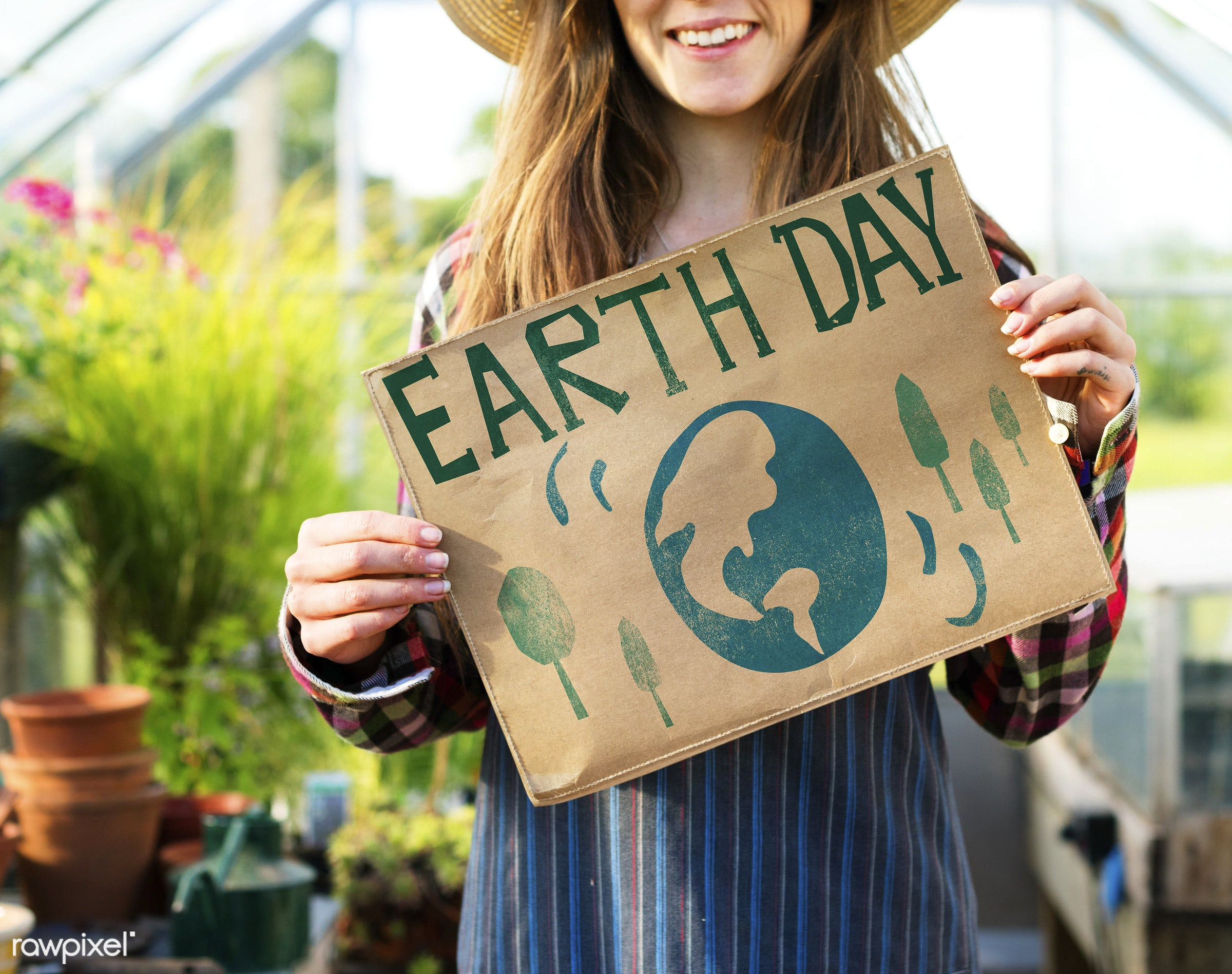 Earth day - adult, caucasian, conservation, countryside, dark blonde, day, earth, eco, ecology, energy, environment,...