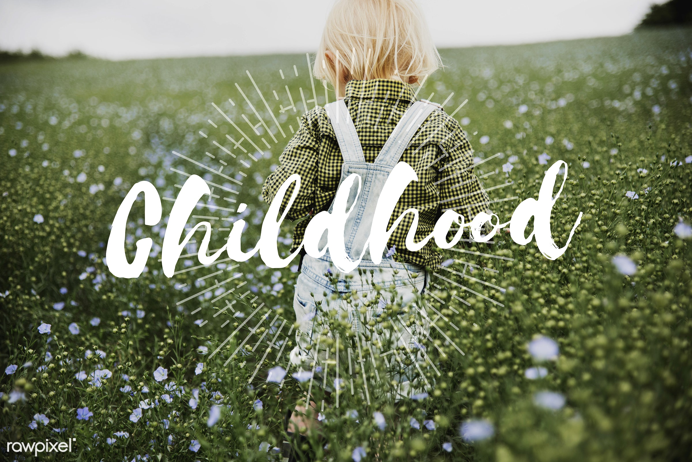 natural, adolescence, blonde, boy, caucasian, child, childhood, children, dungarees, early life, early years, flower garden...