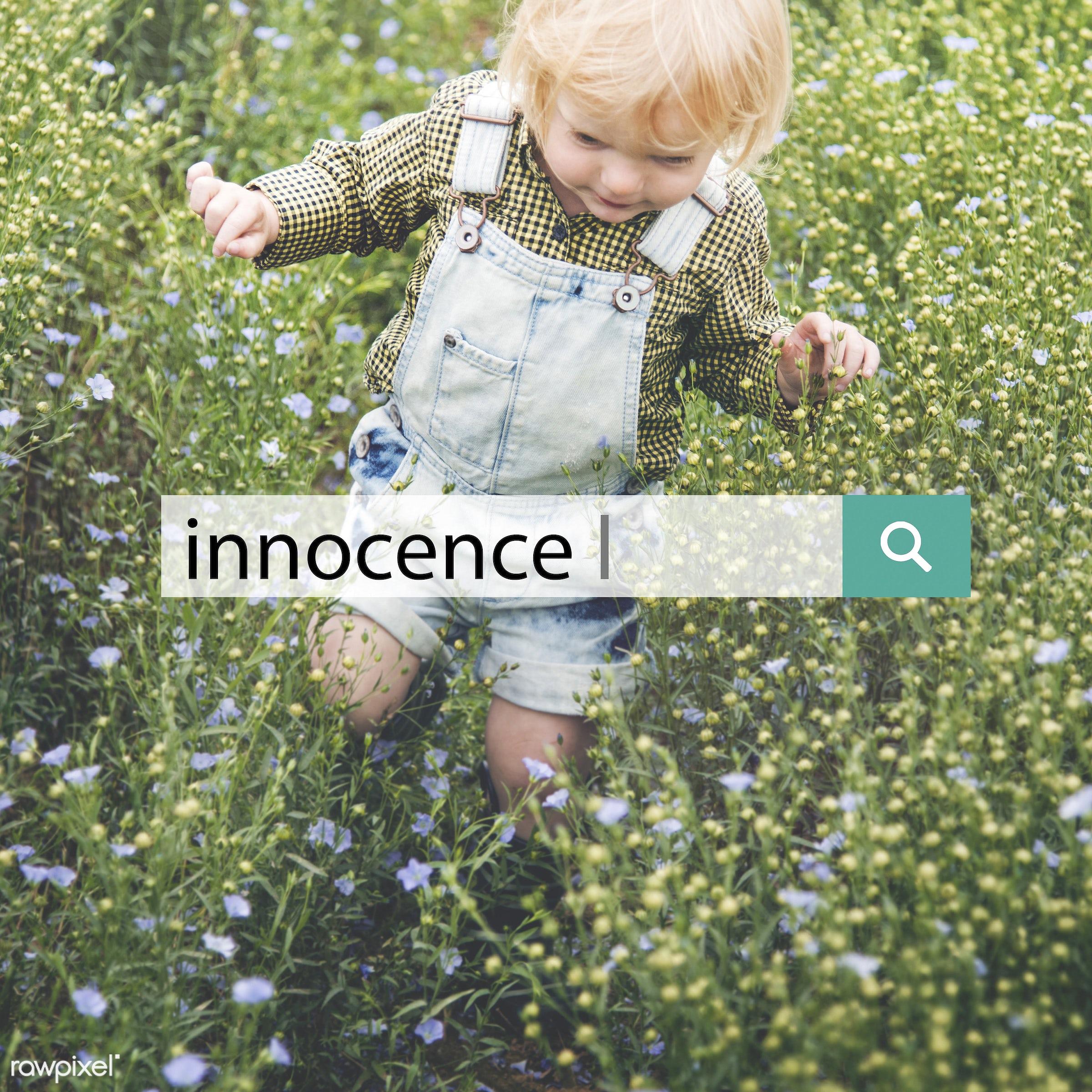 adorable, baby, blameless, blonde, boy, caucasian, child, childhood, children, curiosity, curious, cute, dungarees, flower...