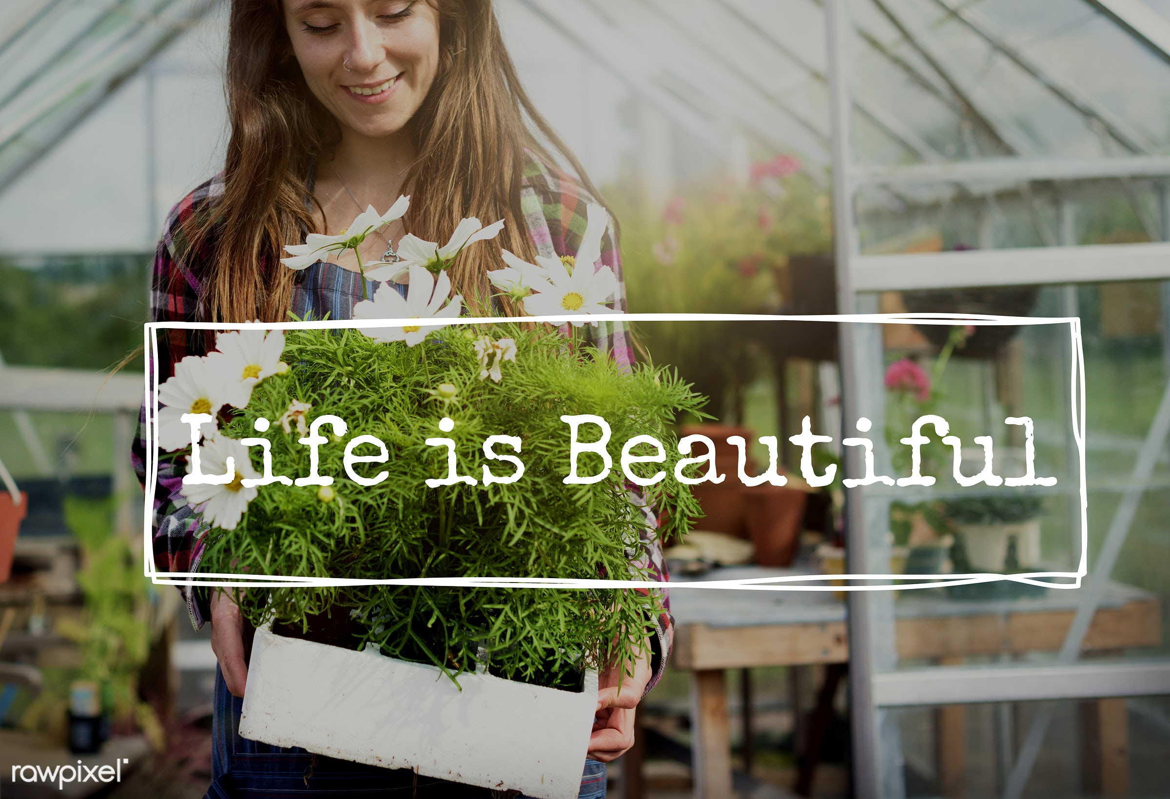 activity, agriculture, apron, backyard, caucasian, cultivate, cultivating, dark blonde, environment, equipment, farm, female...