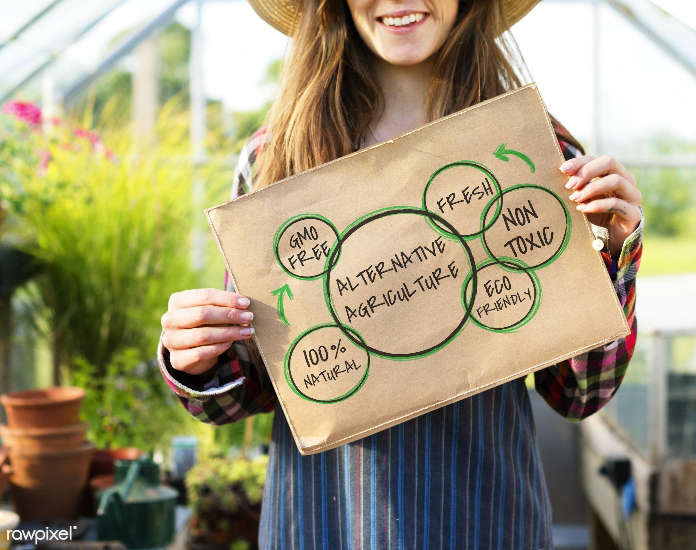 100% natural, adult, agriculture, alternative agriculture, alternative farming, caucasian, circle, countryside, dark blonde...