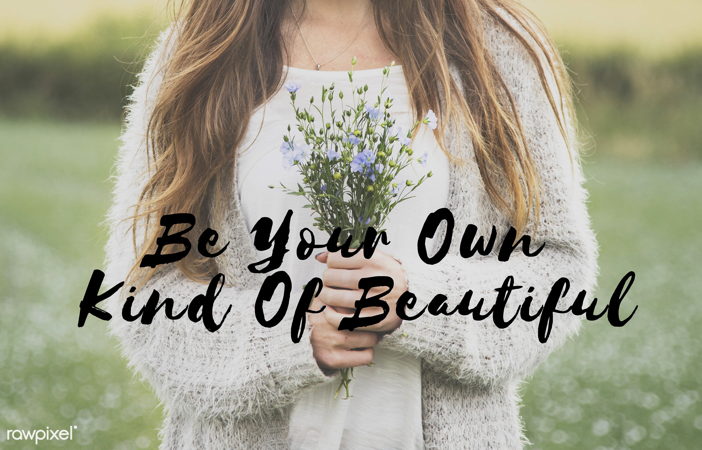 be good, be happy, be yourself, beautiful, beauty, bloom, blossom, caption, caucasian, dark blonde, difference, different,...