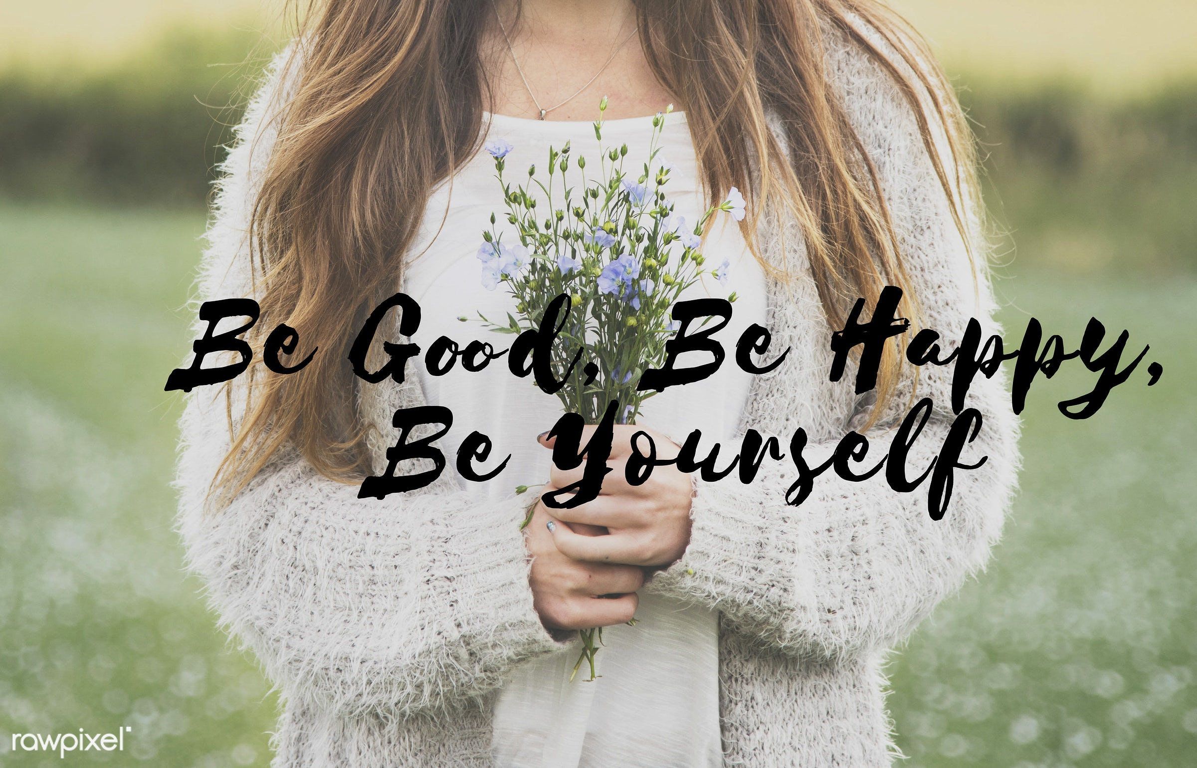 youth, be good, be happy, be yourself, beautiful, beauty, bloom, blossom, caption, caucasian, dark blonde, difference,...