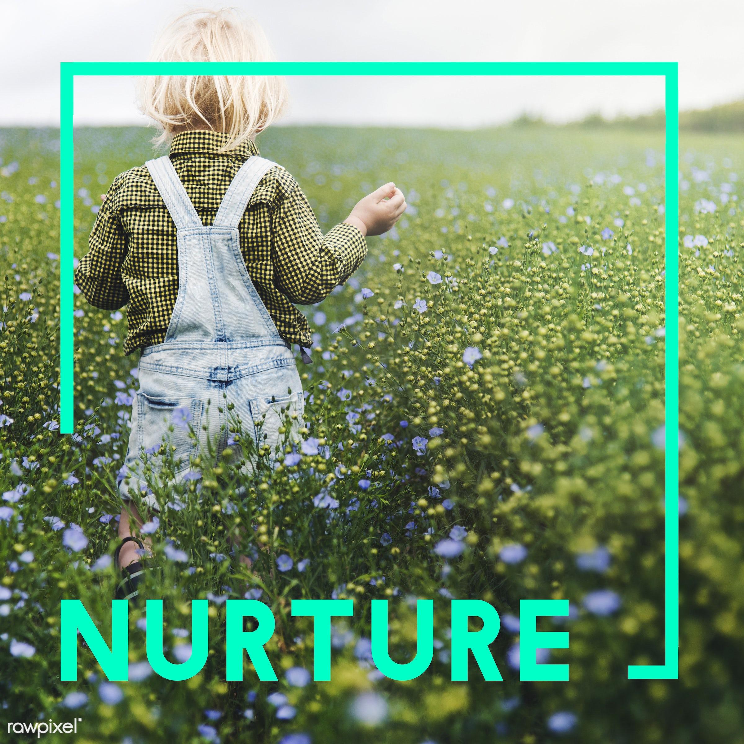 blonde, boy, brand, breeding, caucasian, dungarees, eco, ecology, environment, flower garden, flowers, fresh, friendly,...