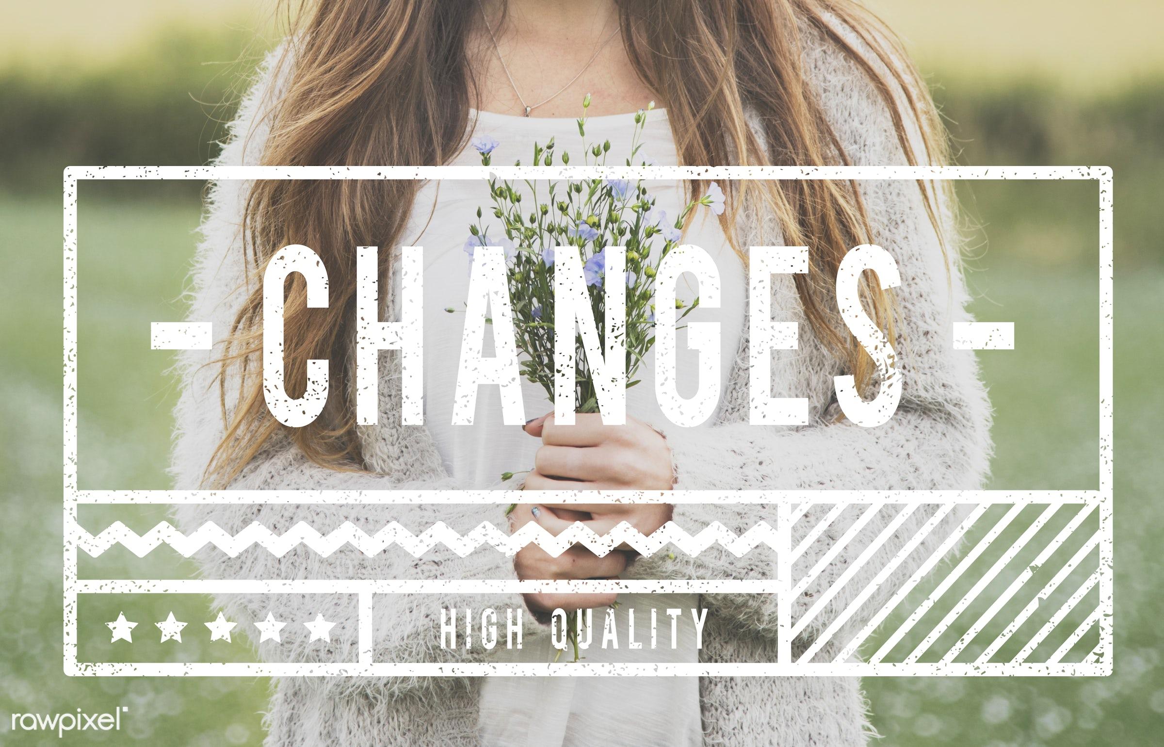 carefree, caucasian, change, cool, dark blonde, dream, fabulous, female, flower garden, flowers, free spirit, freedom,...