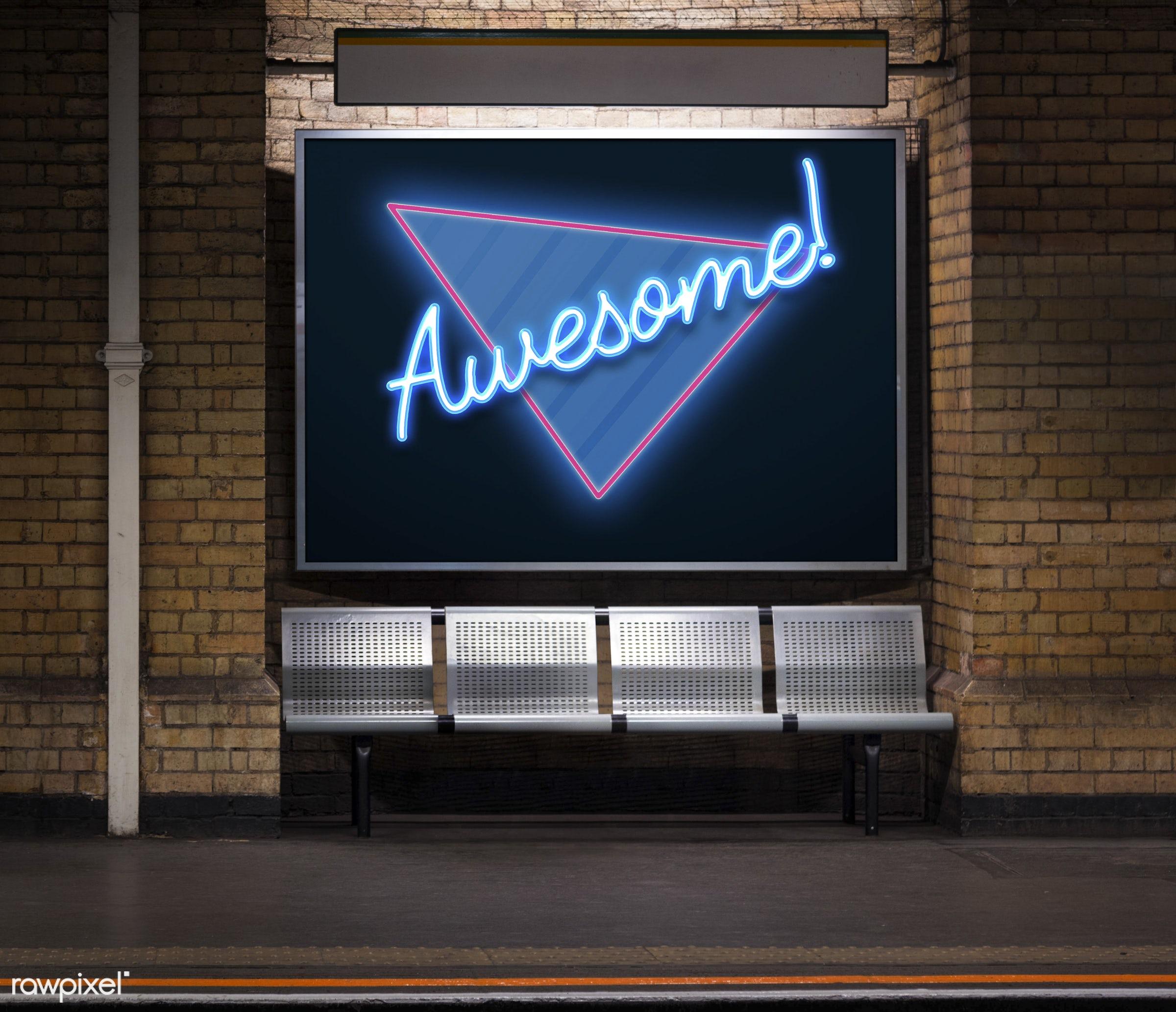 amazing, awesome, bricks, brickswall, chic, cool, expression, fashion, graphic, handwriting, illustration, lettering,...