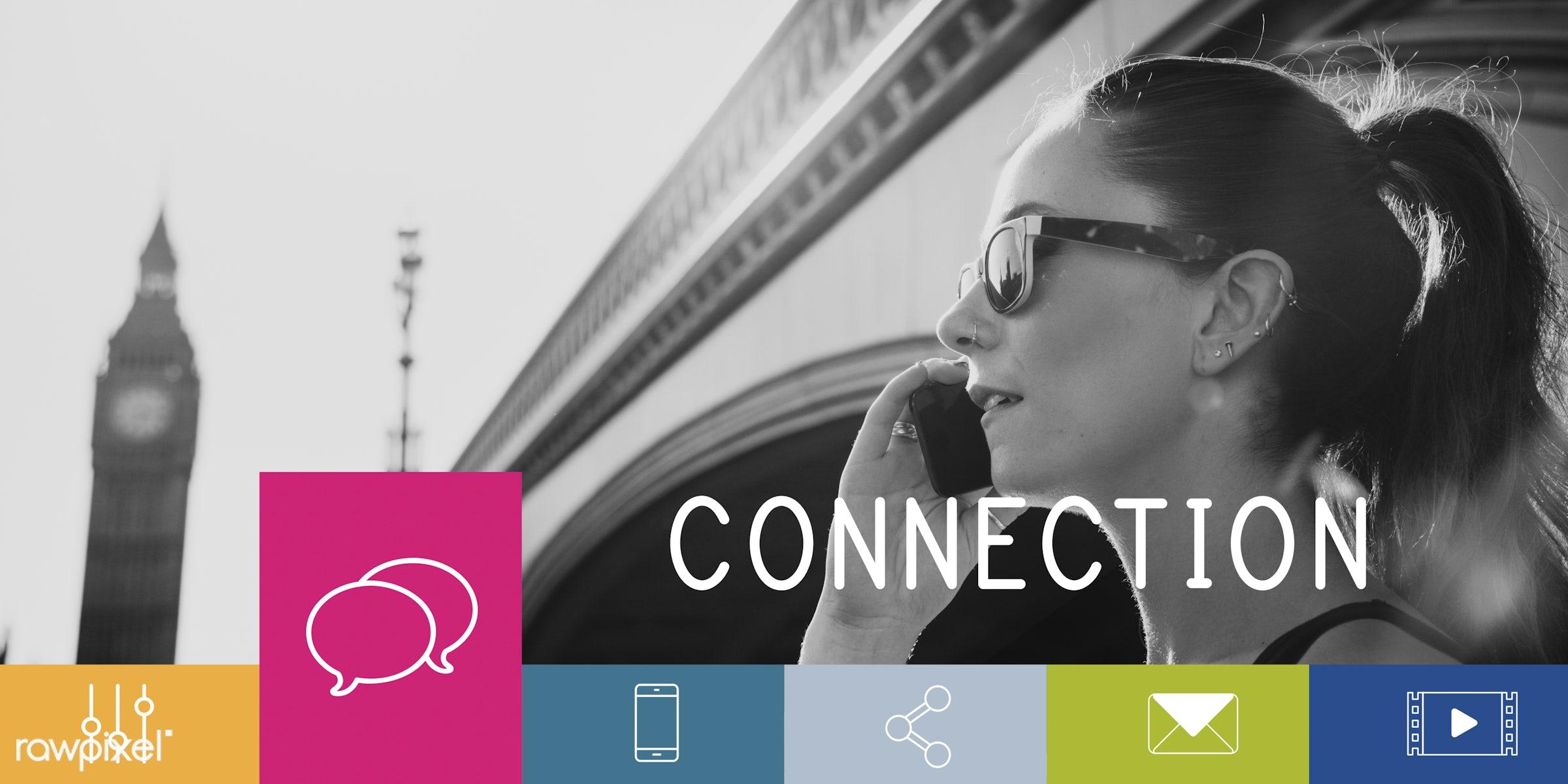 big ben, bridge, britian, bubble chat, button, call, calling, cellphone, chat, clock, communication, community, connect,...