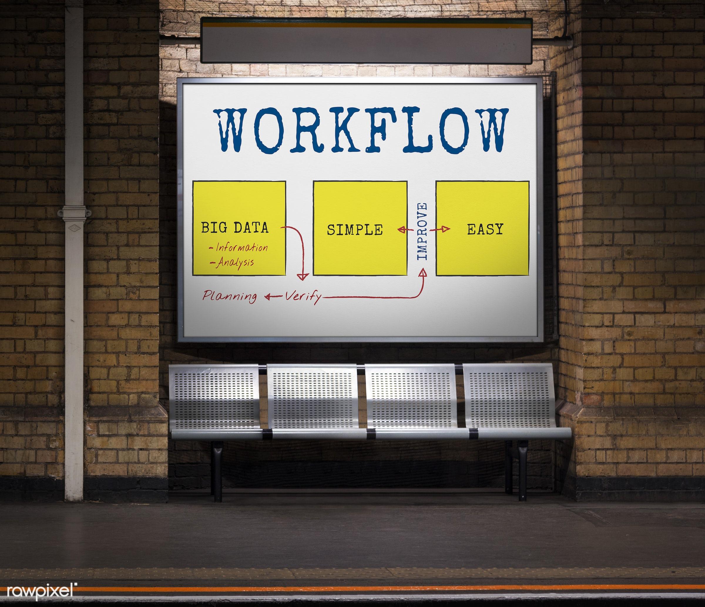arrows, big, bricks, brickswall, connection, creative, data, diagram, easy, graphic, improve, info, information, management...