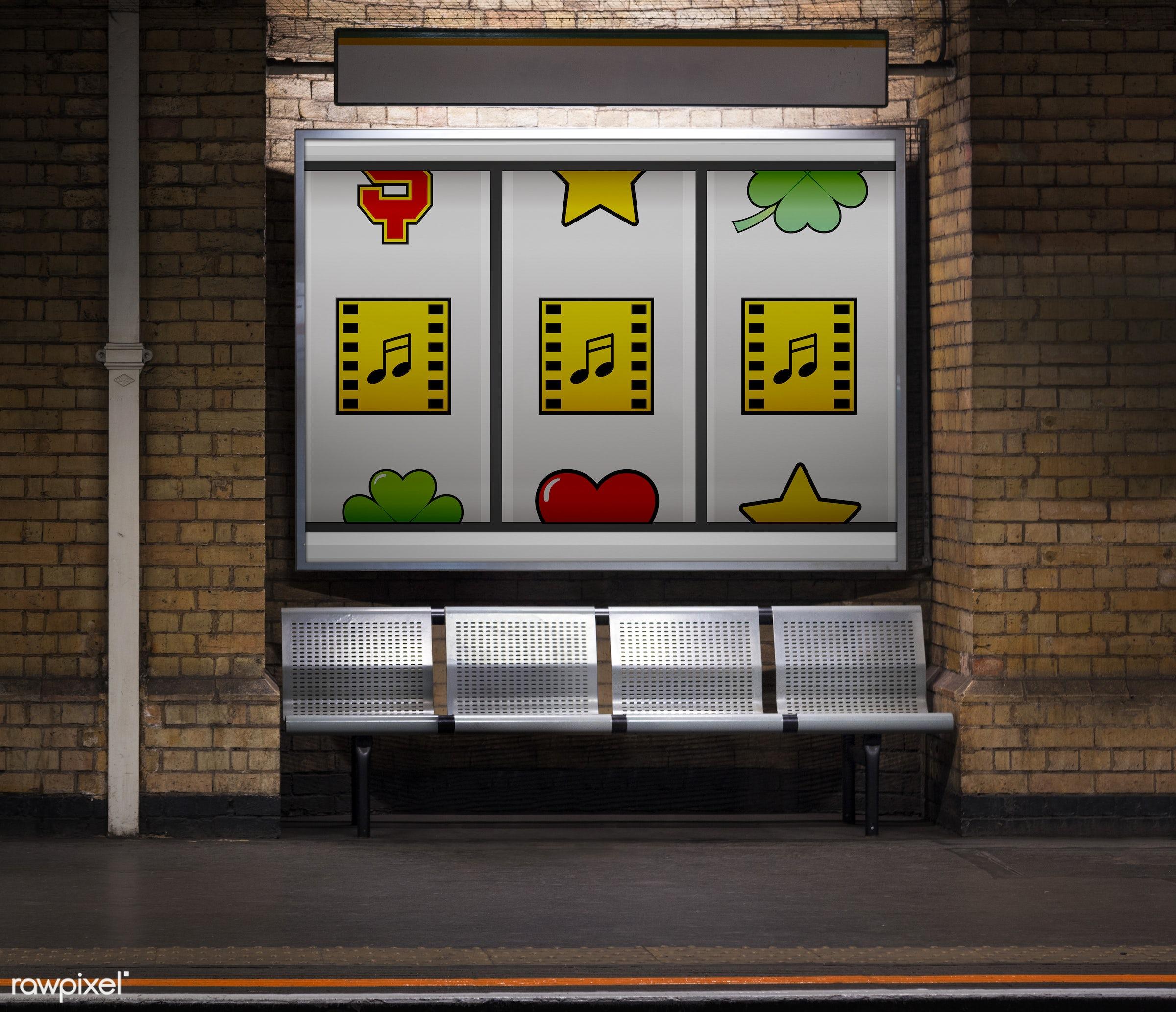 bricks, brickswall, casino, elements, gamble, game, graphics, guitar, icons, illustration, instruments, luck, lucky, media,...