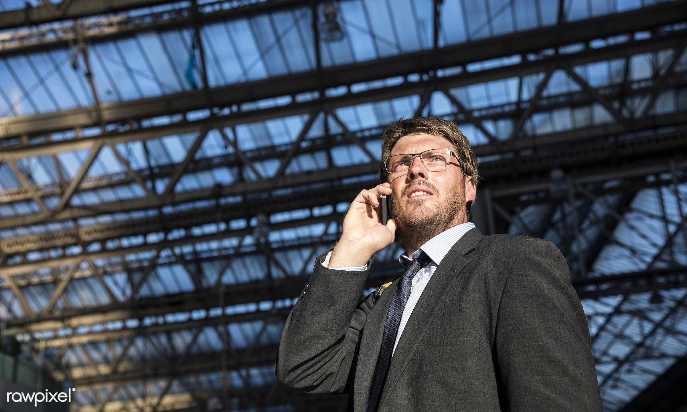 adult, aspirations, business, businessman, call, calling, caucasian, city, communication, confidence, confident, connection...