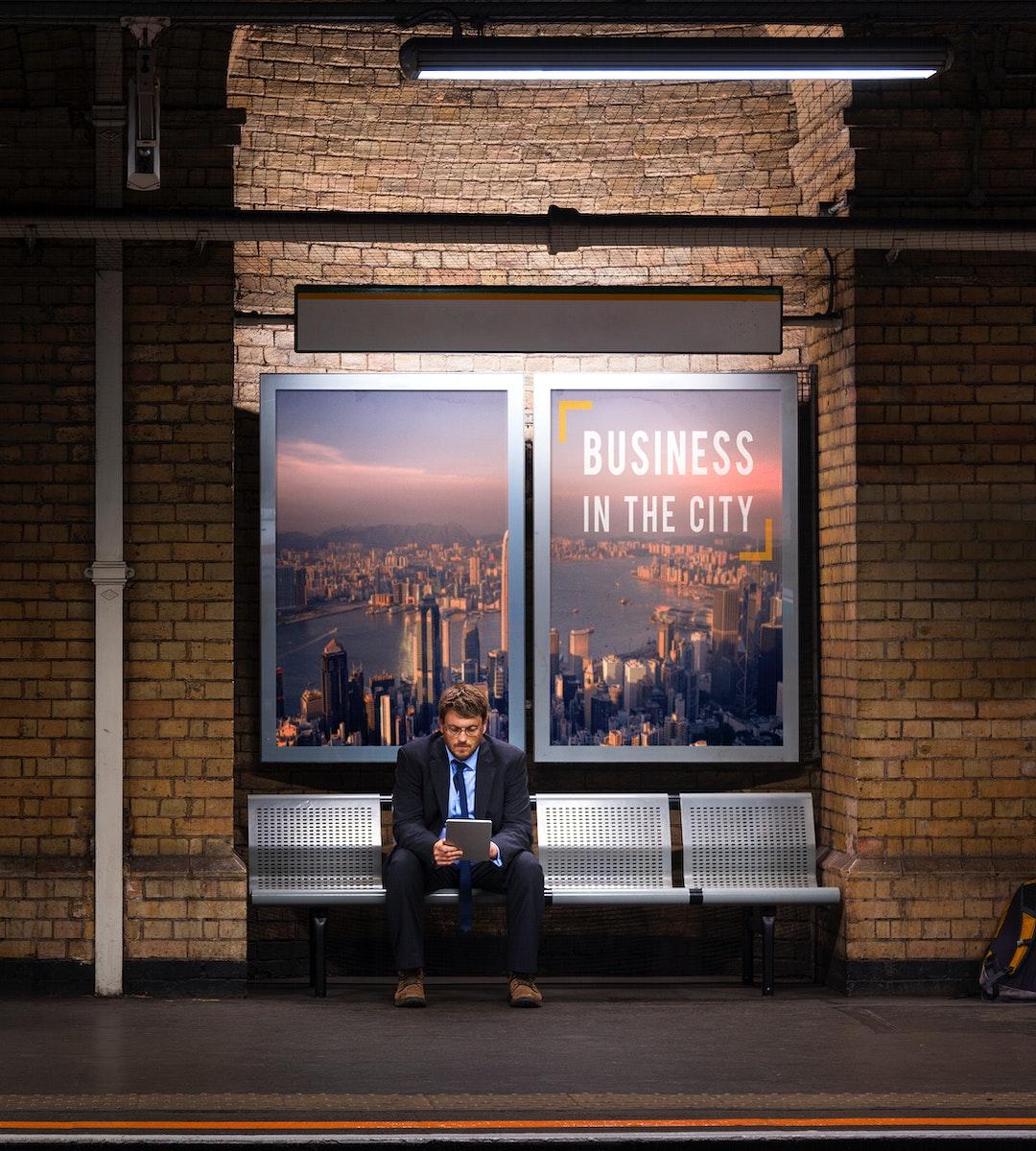 Businessman Caucasian Male Professional Concept