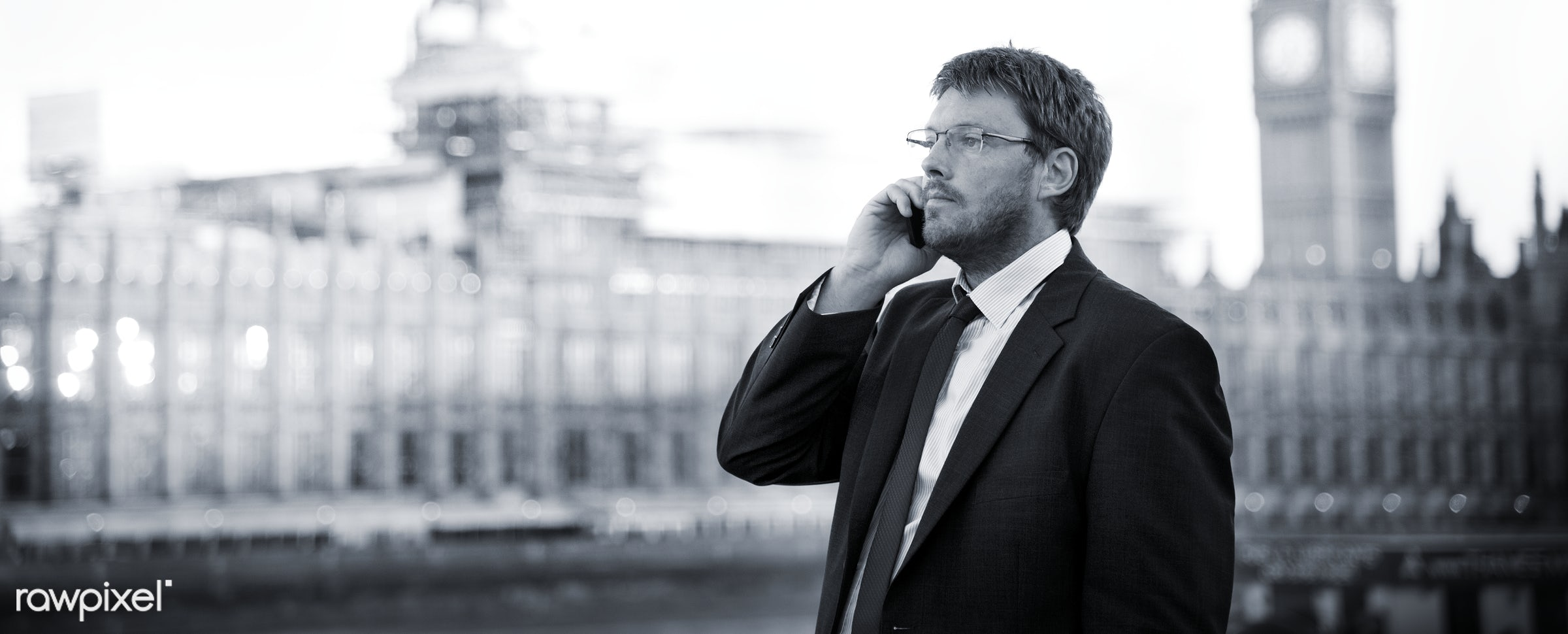 Businessman Caucasian Male Professional Concept - adult, architecture, aspirations, bridge, britain, building, business,...
