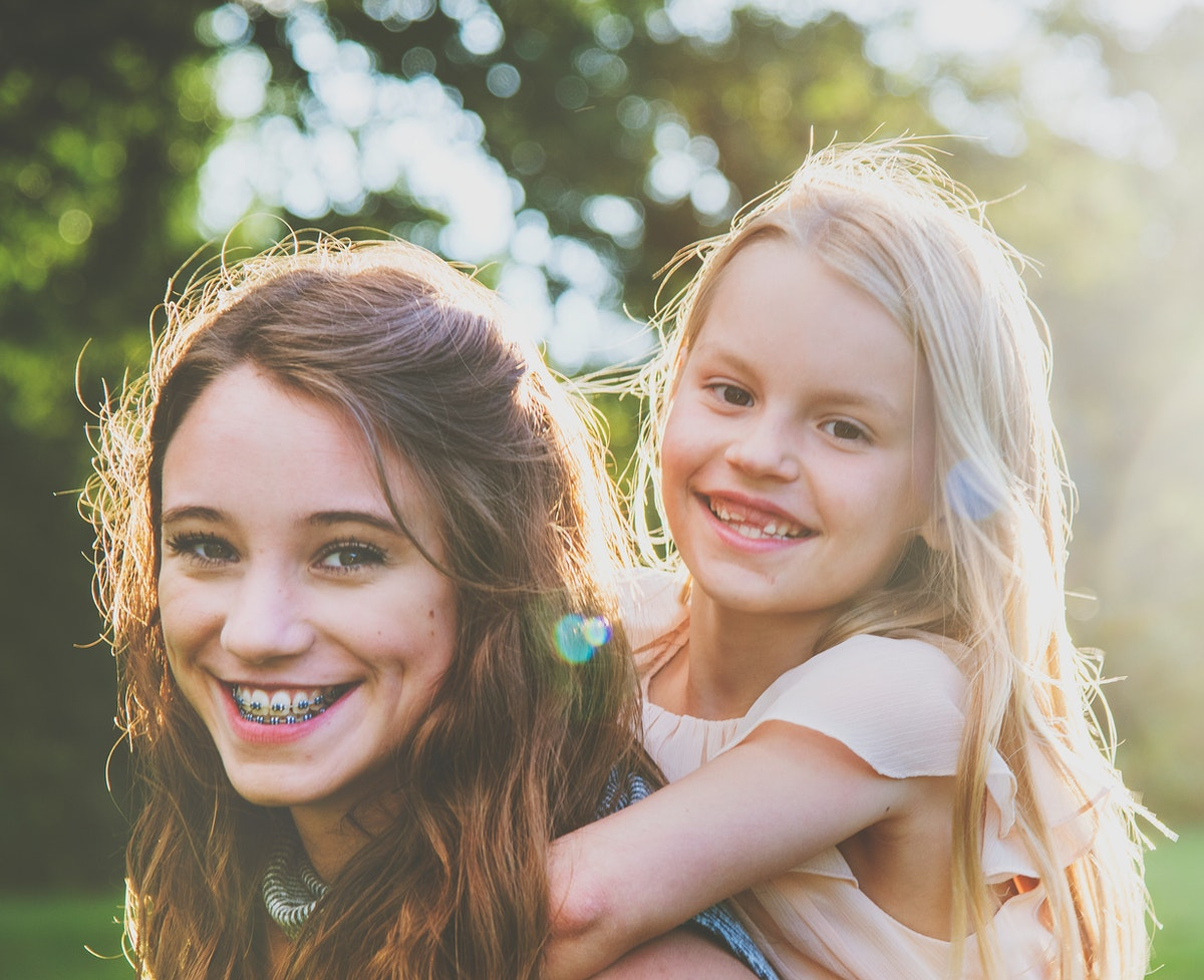 Happy sisterhood