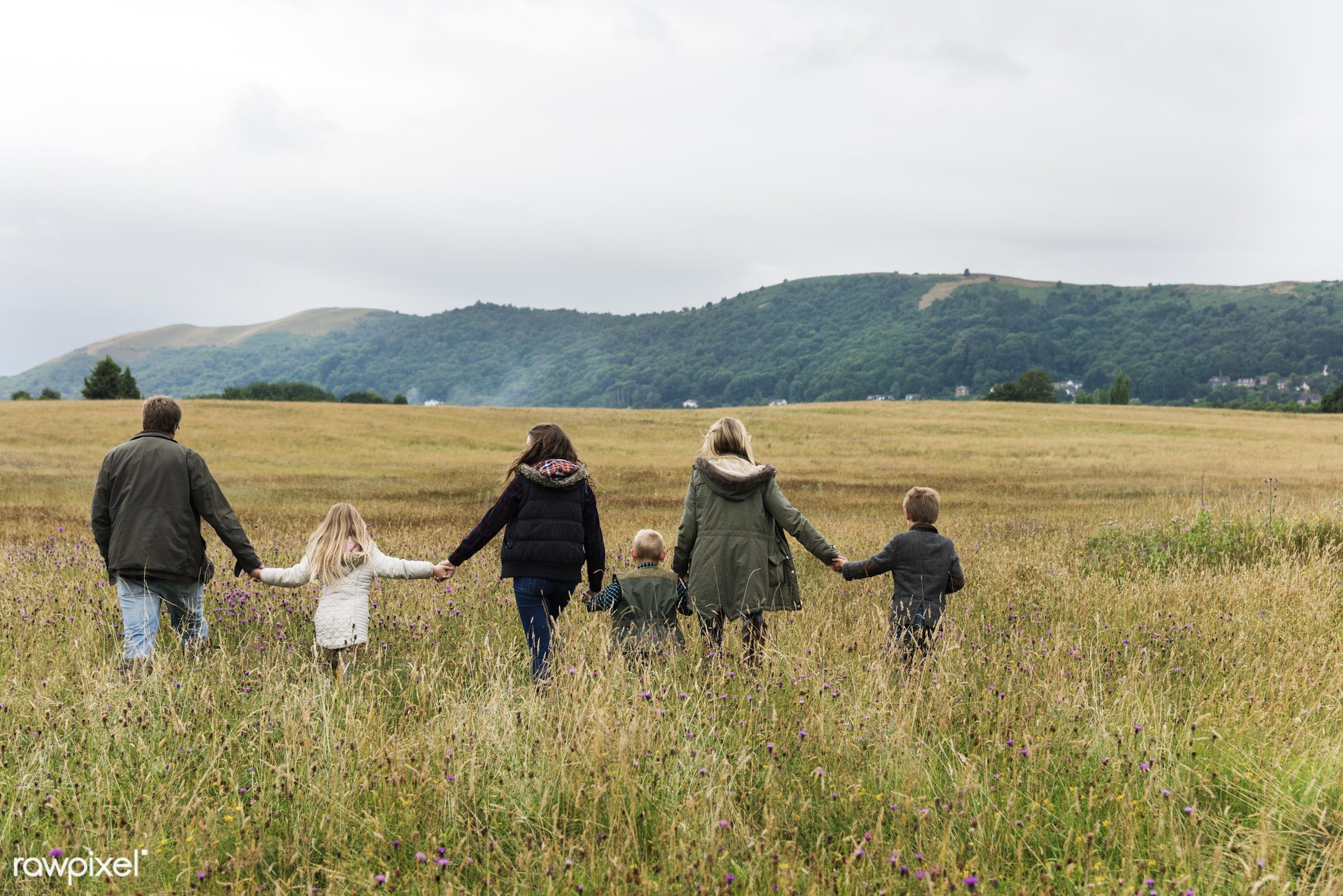 bonding, boy, care, casual, childhood, children, daughter, enjoyment, environment, environmental, family, father, field,...