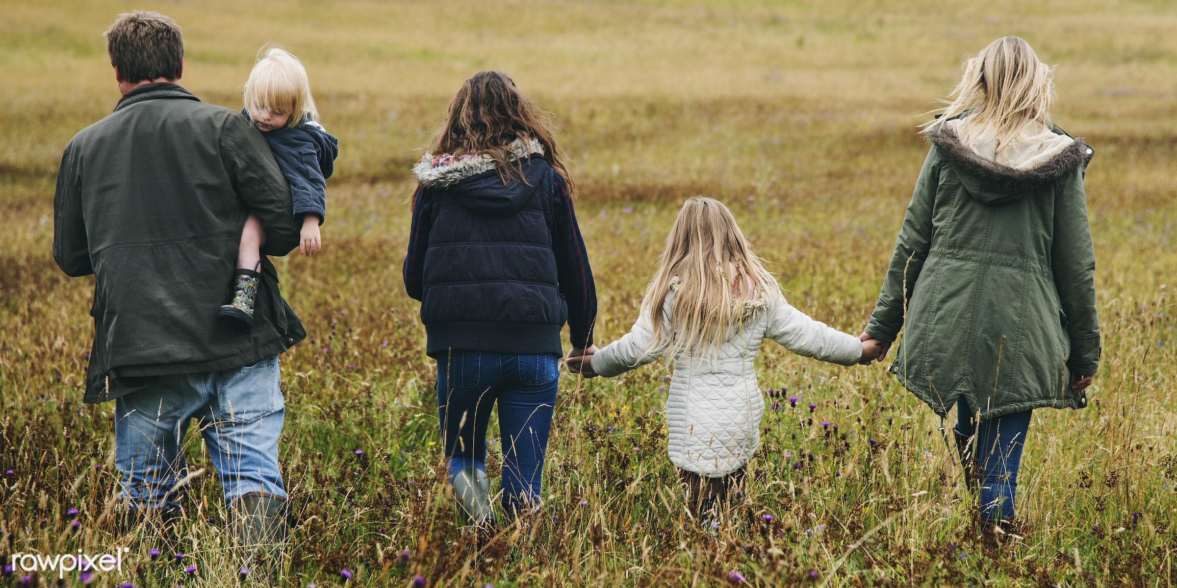 bonding, care, casual, childhood, children, daughter, enjoyment, environment, environmental, family, father, field, girl,...