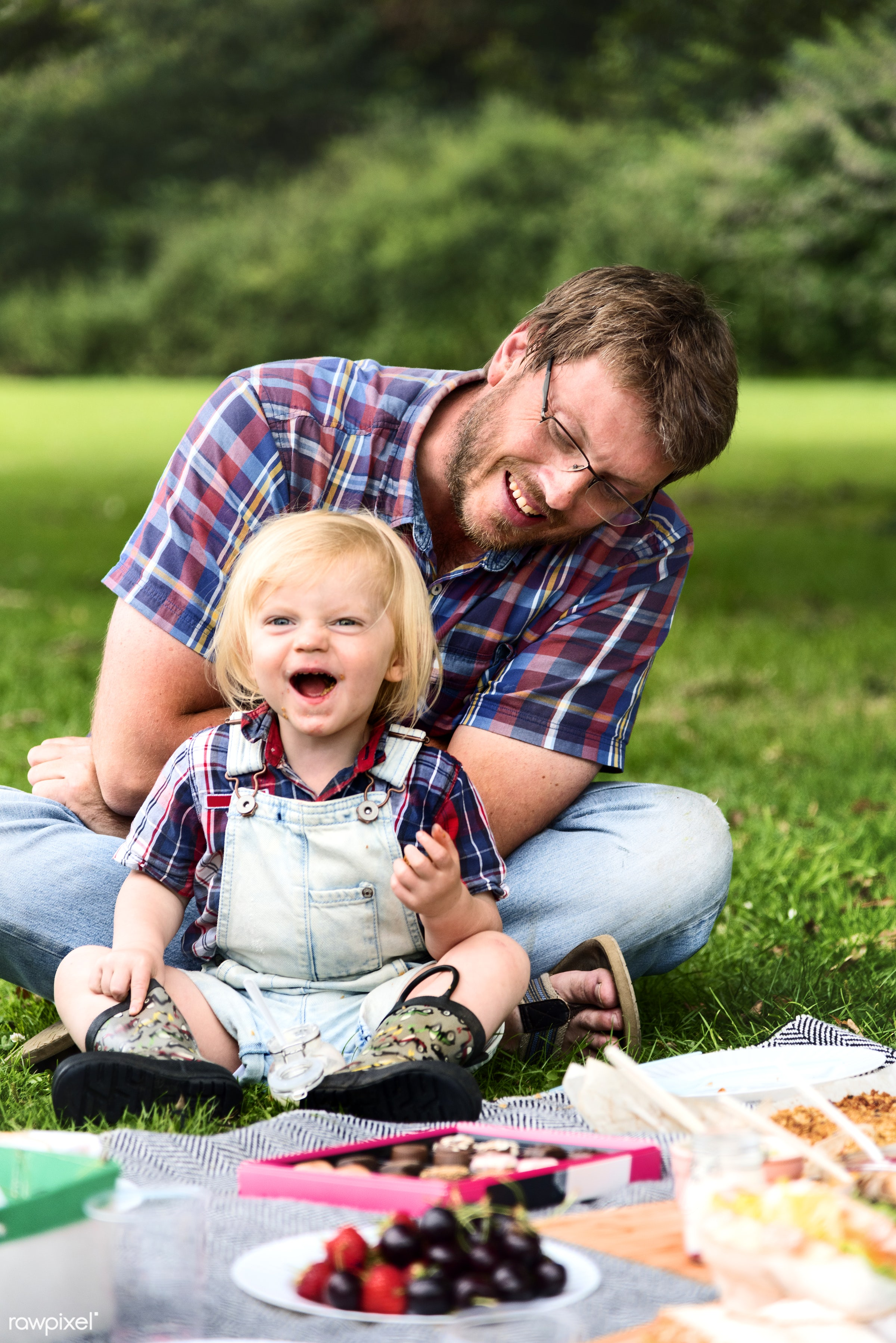 bonding, boy, care, casual, cheerful, child, childhood, chocolate, eating, enjoyment, environmental, family, father, field,...
