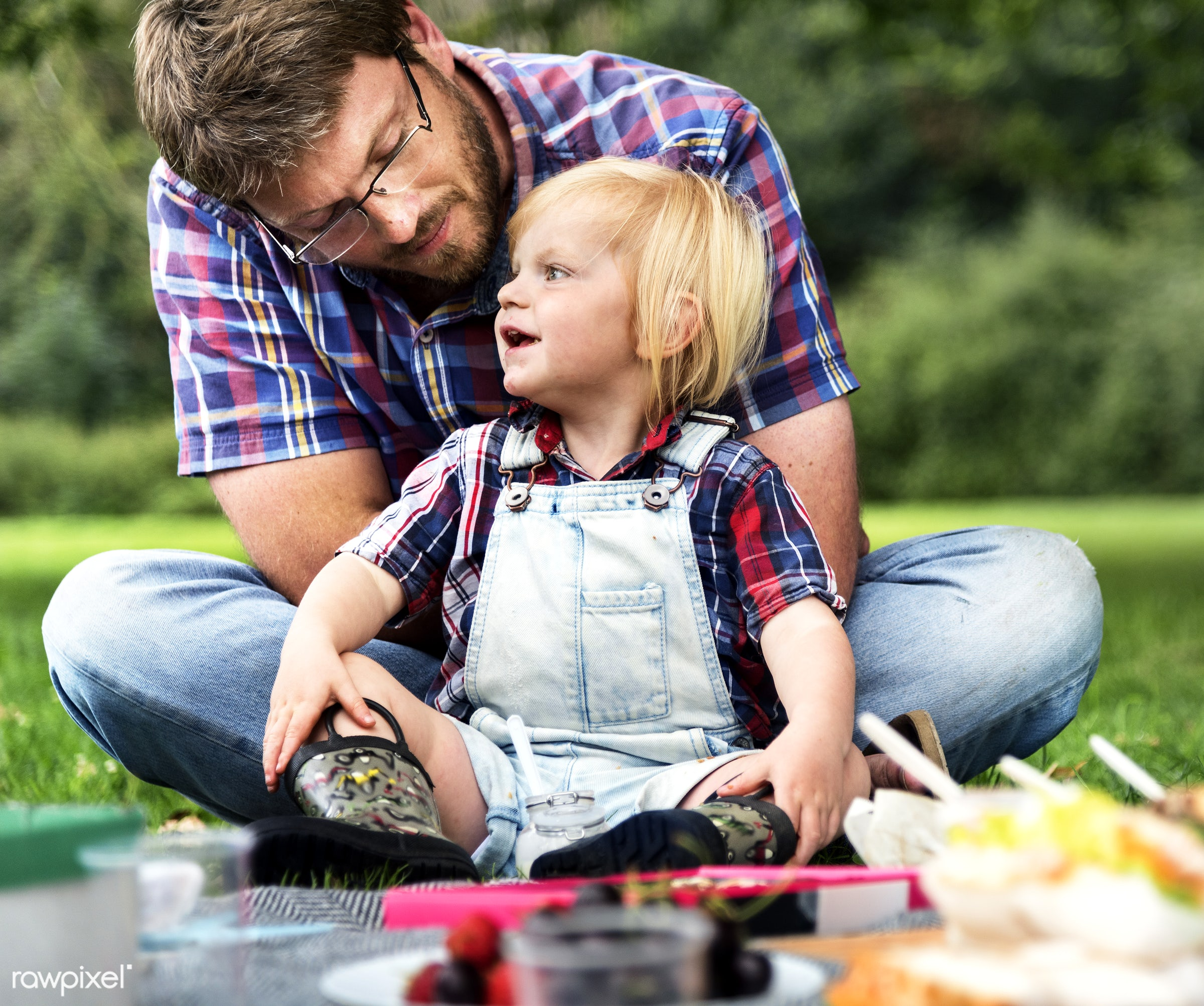 bonding, boy, care, casual, cheerful, child, childhood, enjoyment, environmental, family, father, field, food, fun, garden,...