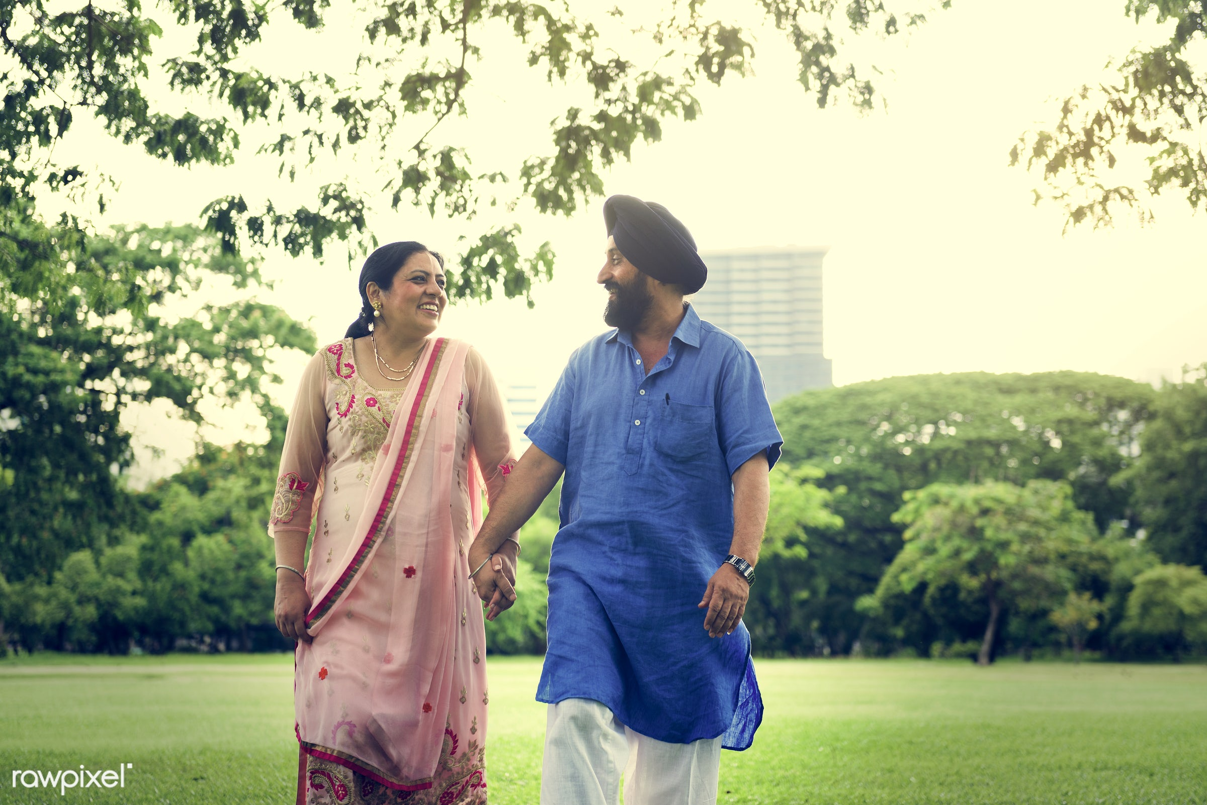 Indian Couple Love Care Concept - activity, adult, asian, bonding, care, casual, cheerful, couple, day, ethnicity, family,...