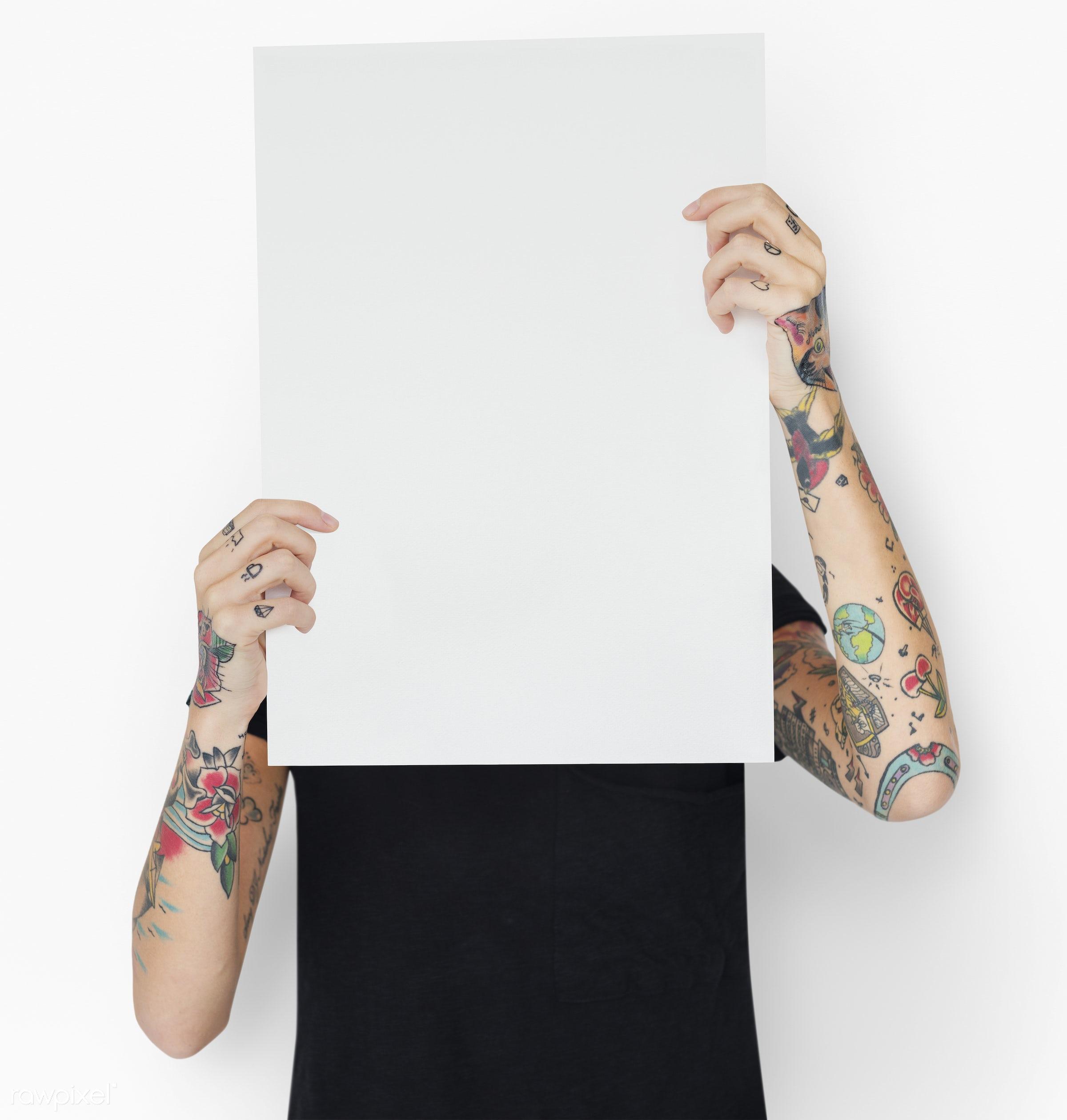 creative, tattoo, mockup, adult, alternative, art, attractive, background, blank, body, copy space, design, fashion, female...