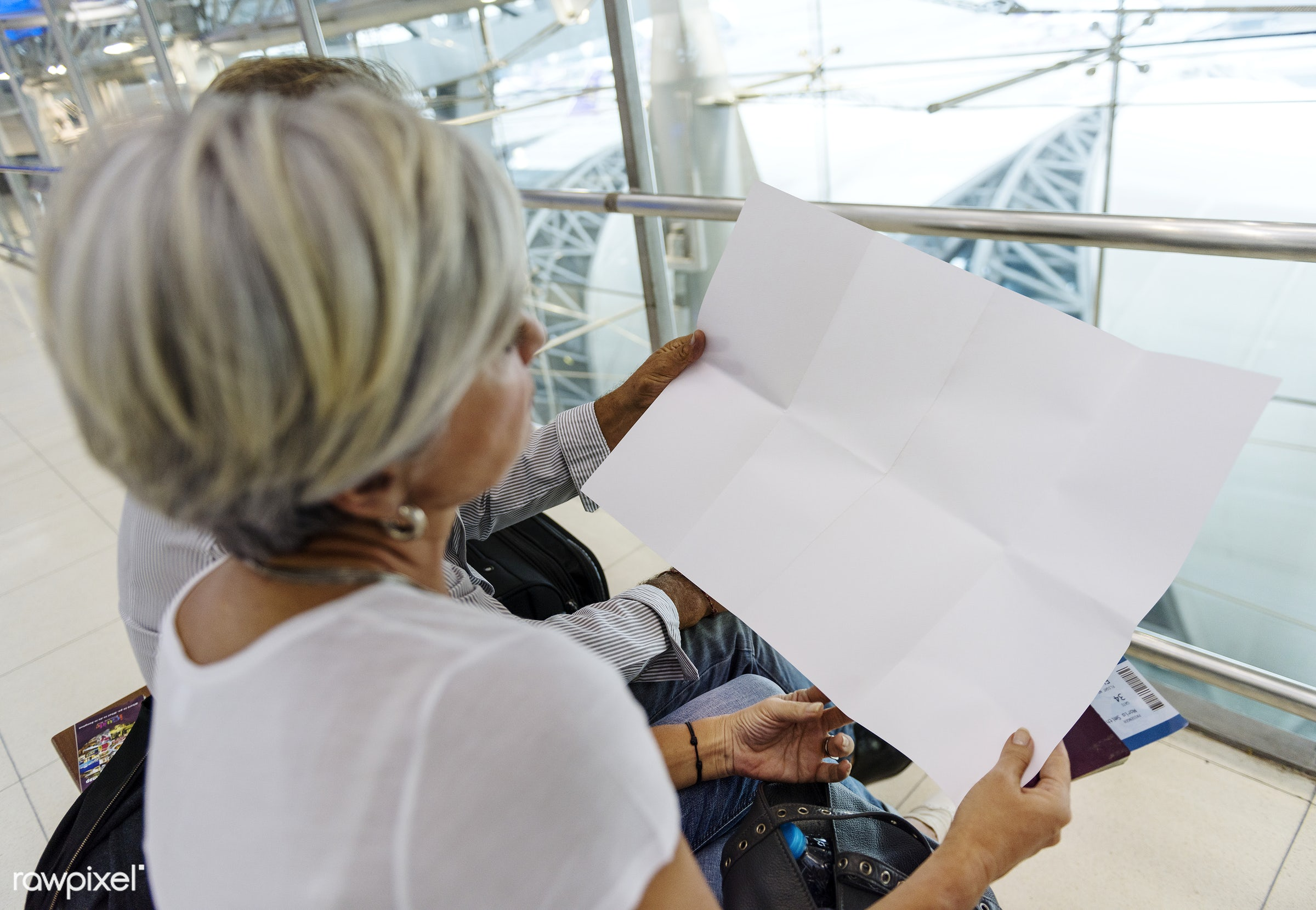 airport, blank, blank space, caucasian, checking, copy space, couple, design space, elderly, empty, european, holiday,...