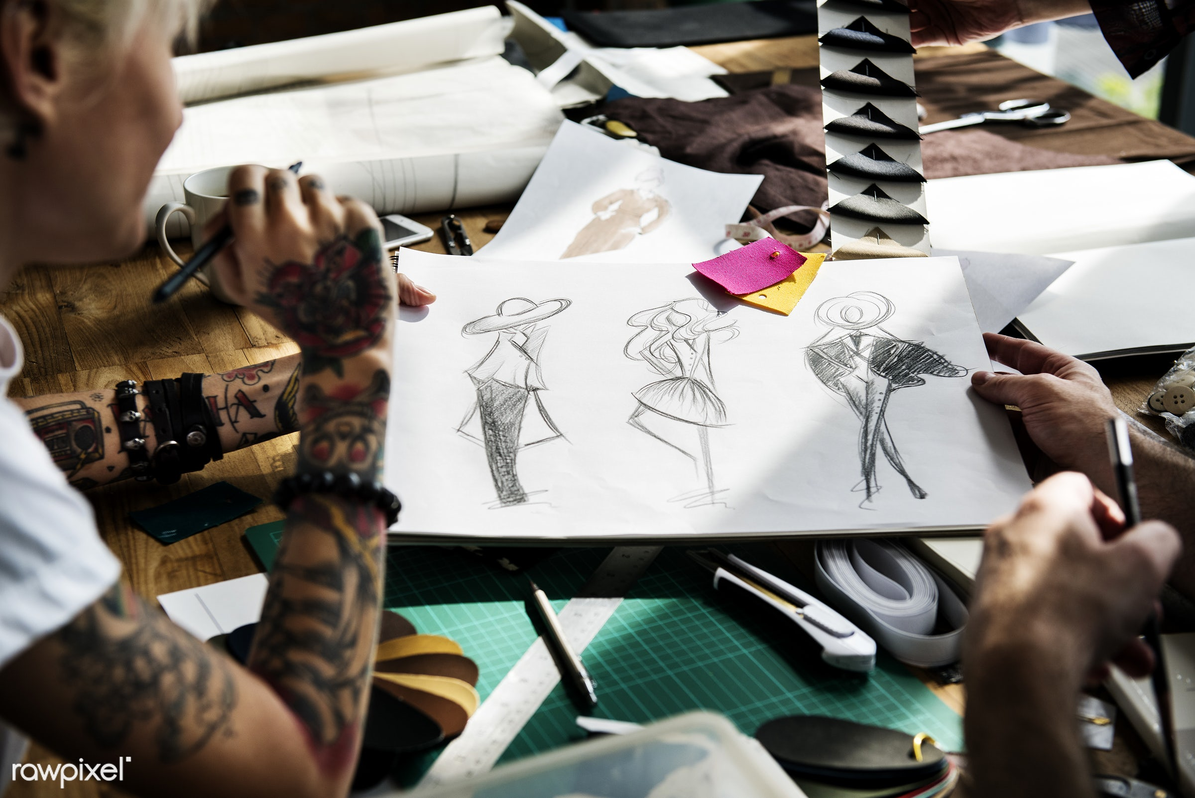 artist, business, busy, clothing, collaboration, collection, couture, craft, creative, design, designer, designing,...