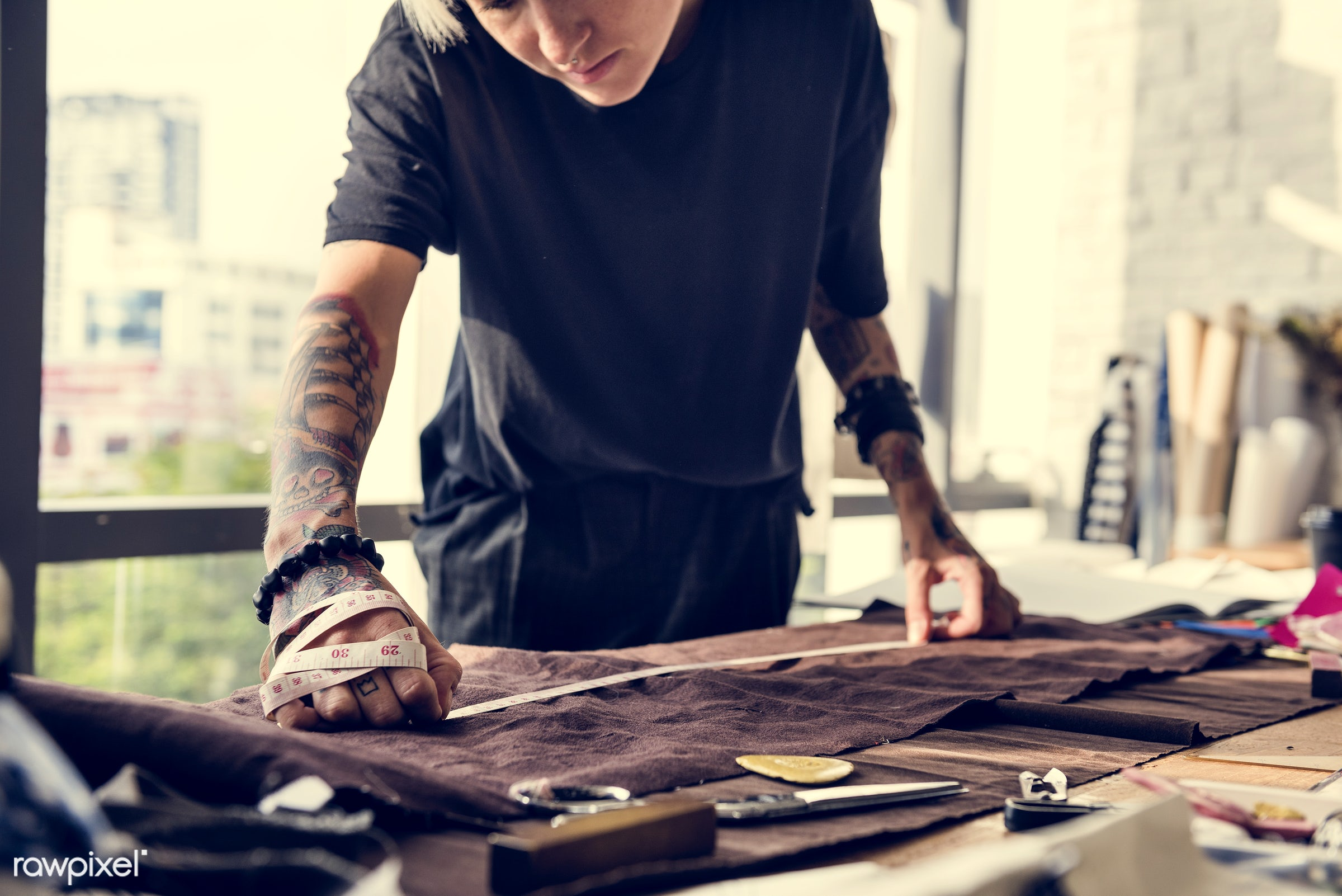 studio, manufacturing, fashion, craft, clothing, designing, garment, profession, busy, trendy, equipment, collection,...