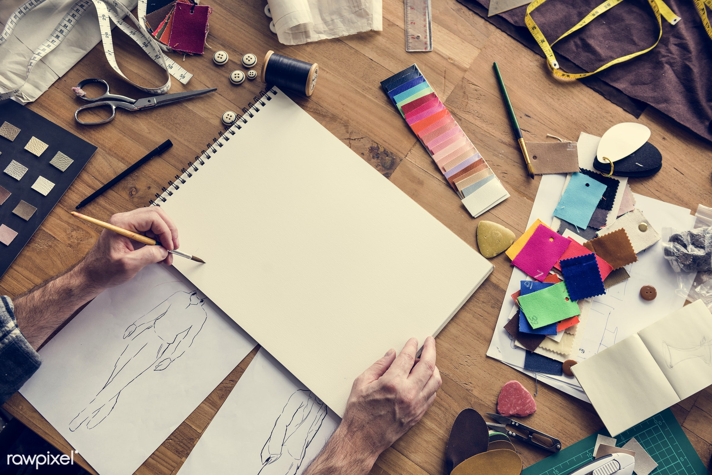 studio, fashion, craft, measure, clothing, handicraft, garment, dressmaker, outfit, trendy, stylist, creativity, drawing,...