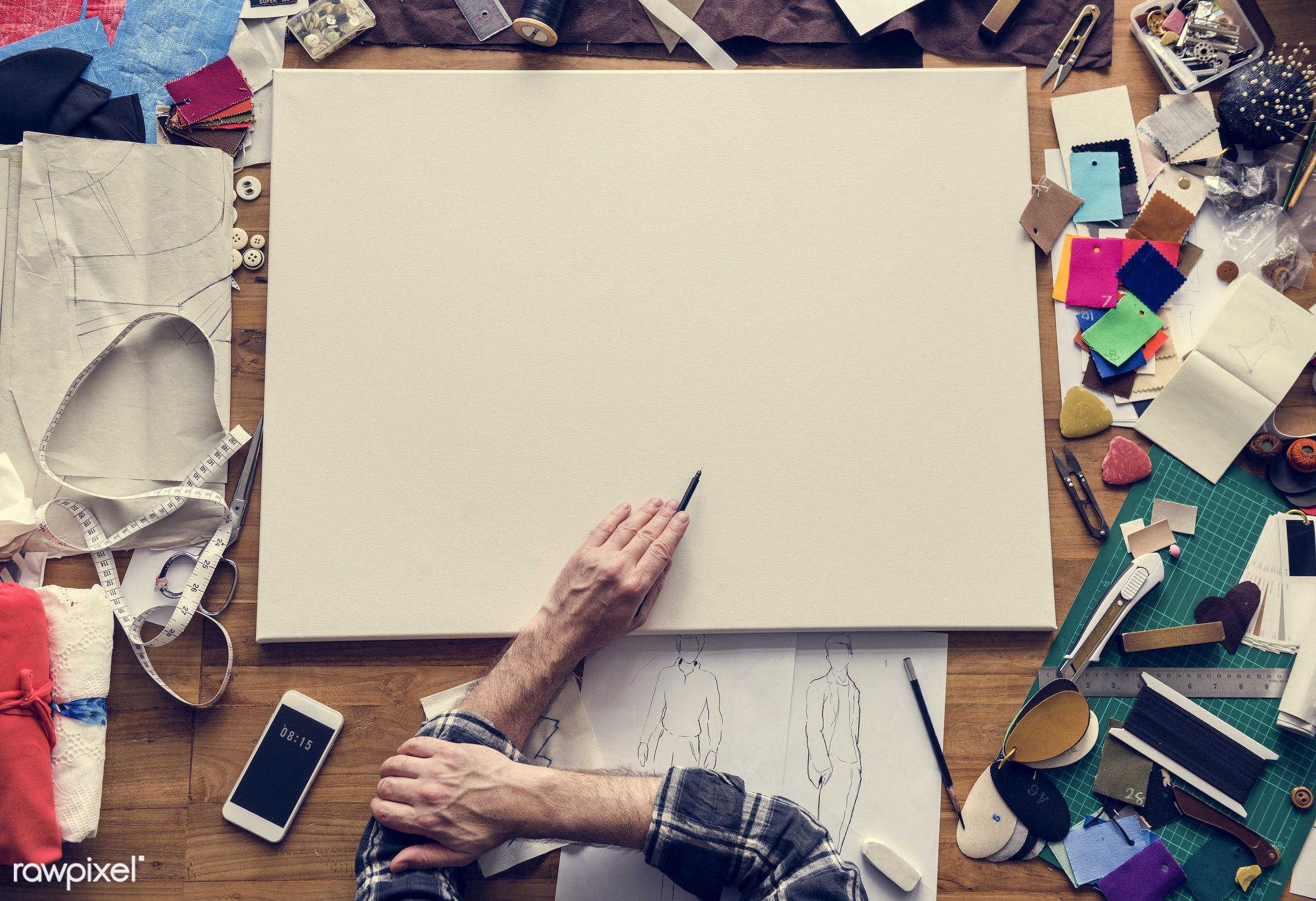 studio, fashion, craft, measure, clothing, handicraft, garment, dressmaker, outfit, trendy, stylist, creativity, style,...