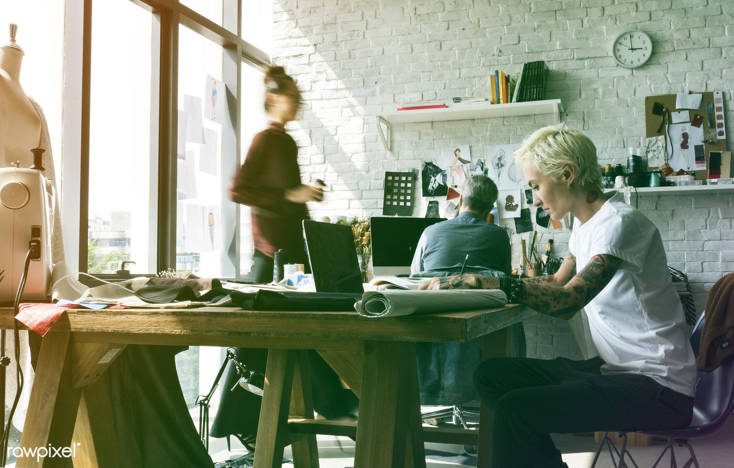 manufacturing, person, design industry, people, draw, decor, designers, tattoo, work, workshop, fashion designing, creative...