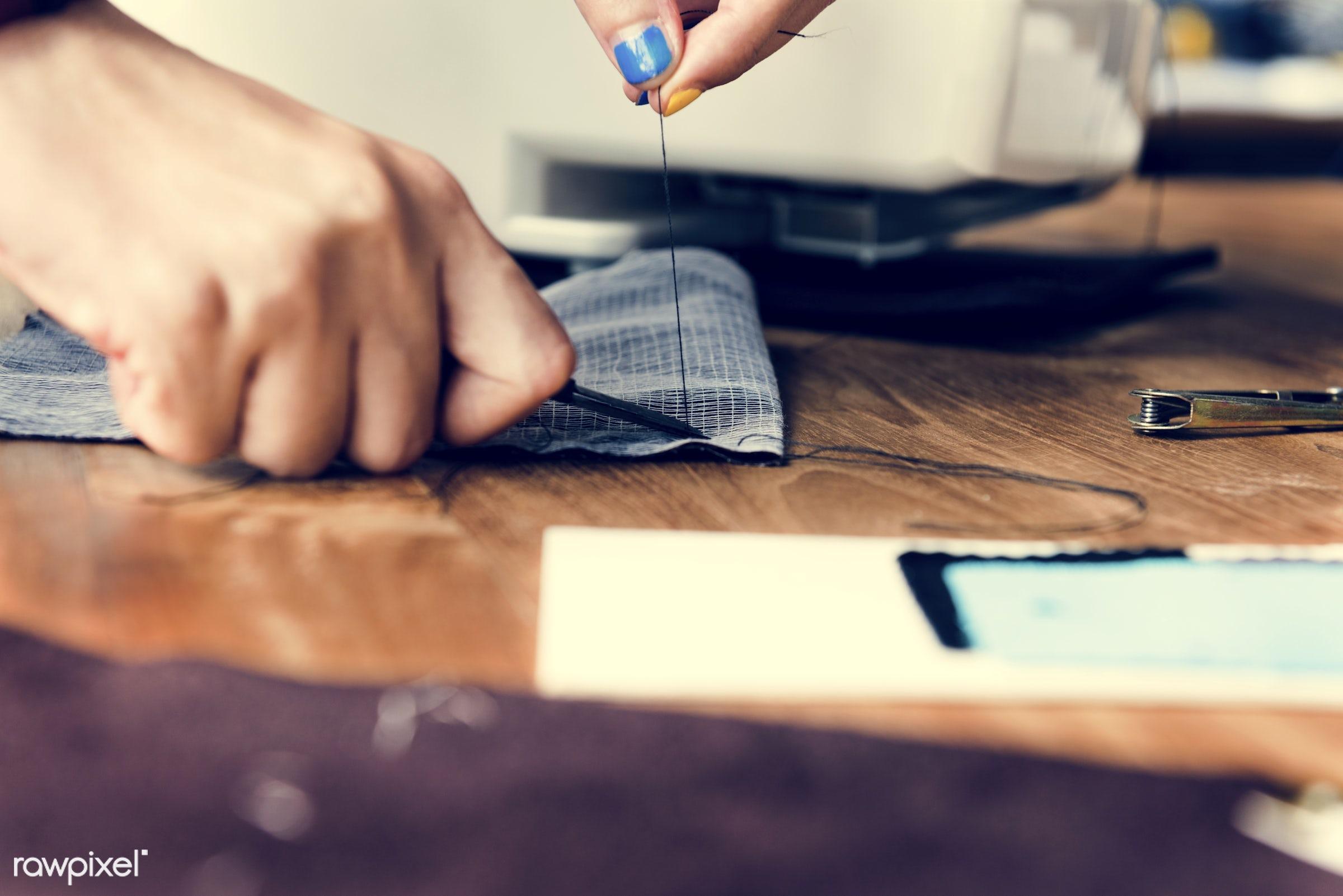 trends, sew, fashion, detail, craft, clothing, garment, fashion studio, profession, tool, equipment, perfection, inspiration...