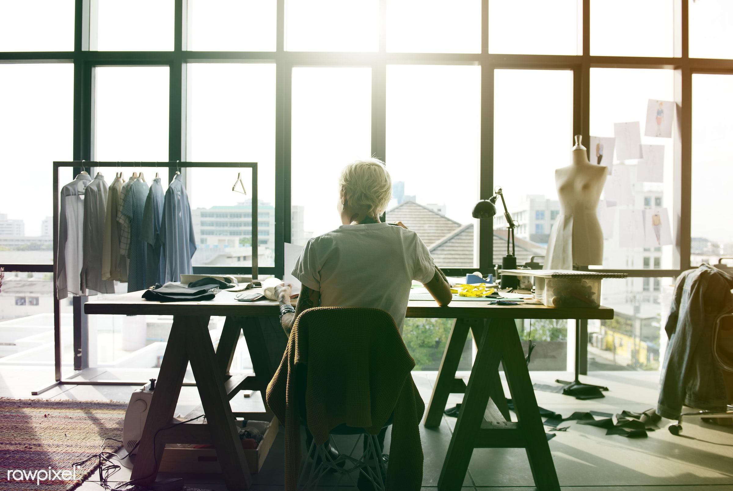 analyzing, new ideas, profession, inspiration, designers, brainstorm, focus, occupation, creative, brainstorming, job,...