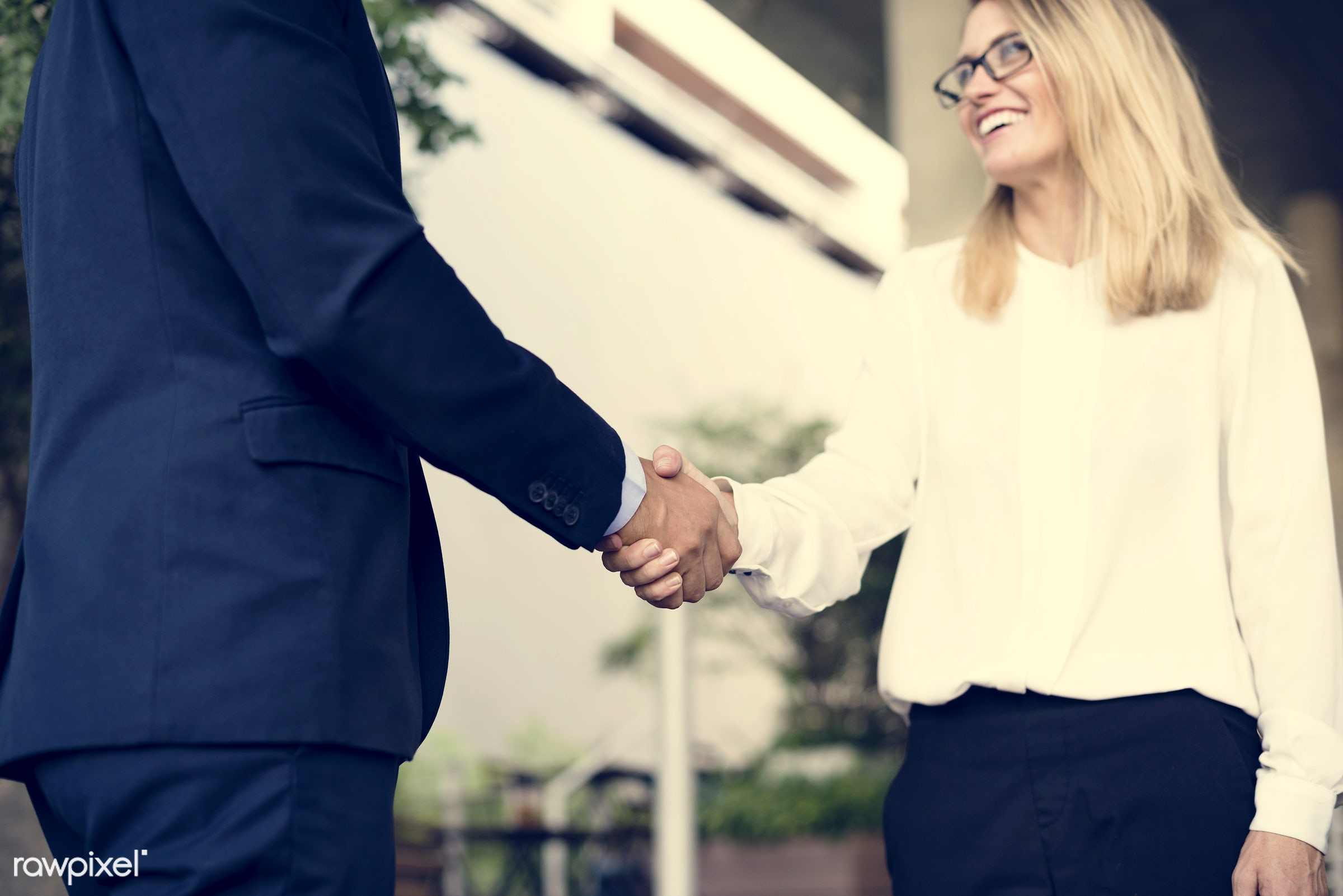 person, collaboration, first met, shake, people, nice to meet you, business, caucasian, please, deal, businesswomen, hands,...