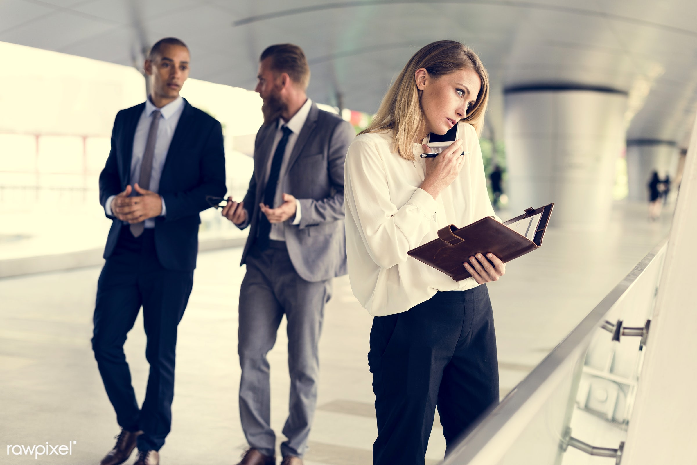expression, update, face, person, phone, suit and tie, white collar worker, busy, indoors, calling, customer, people,...