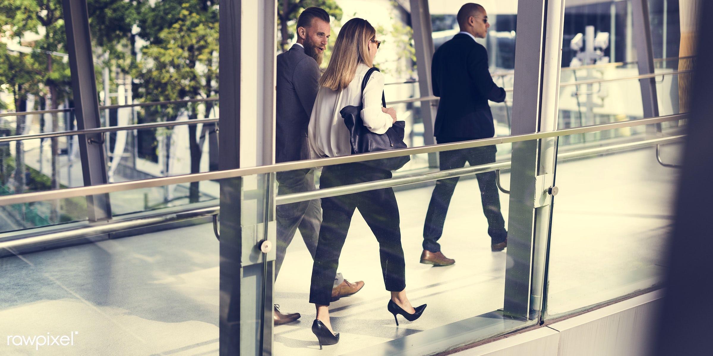 person, suit and tie, white collar worker, people, business, caucasian, break, friends, businesswomen, hands, woman,...