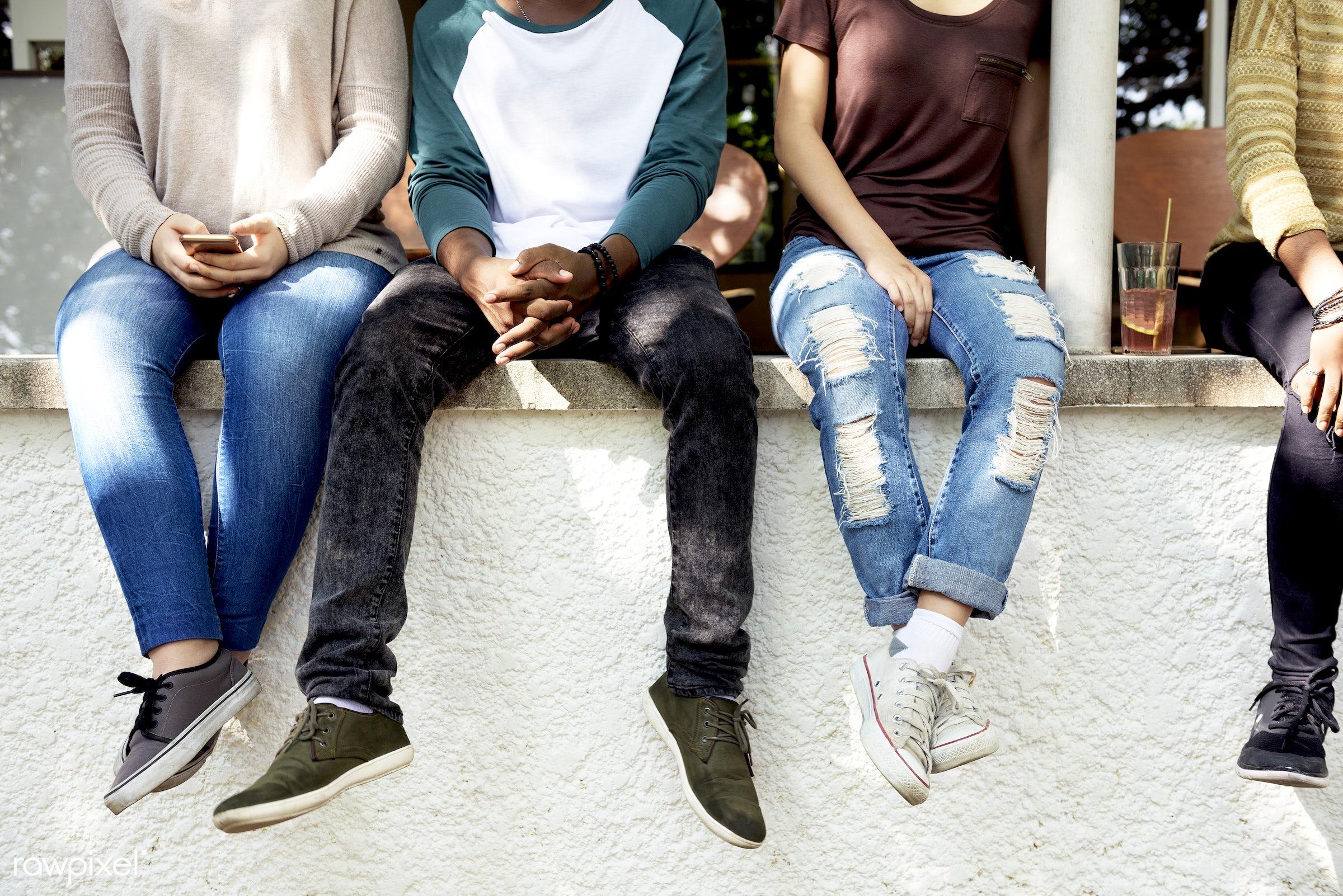 fashion, diverse, wisdom, trendy, people, teamwork, friends, style, student, casual, friendship, men, hipster, university,...